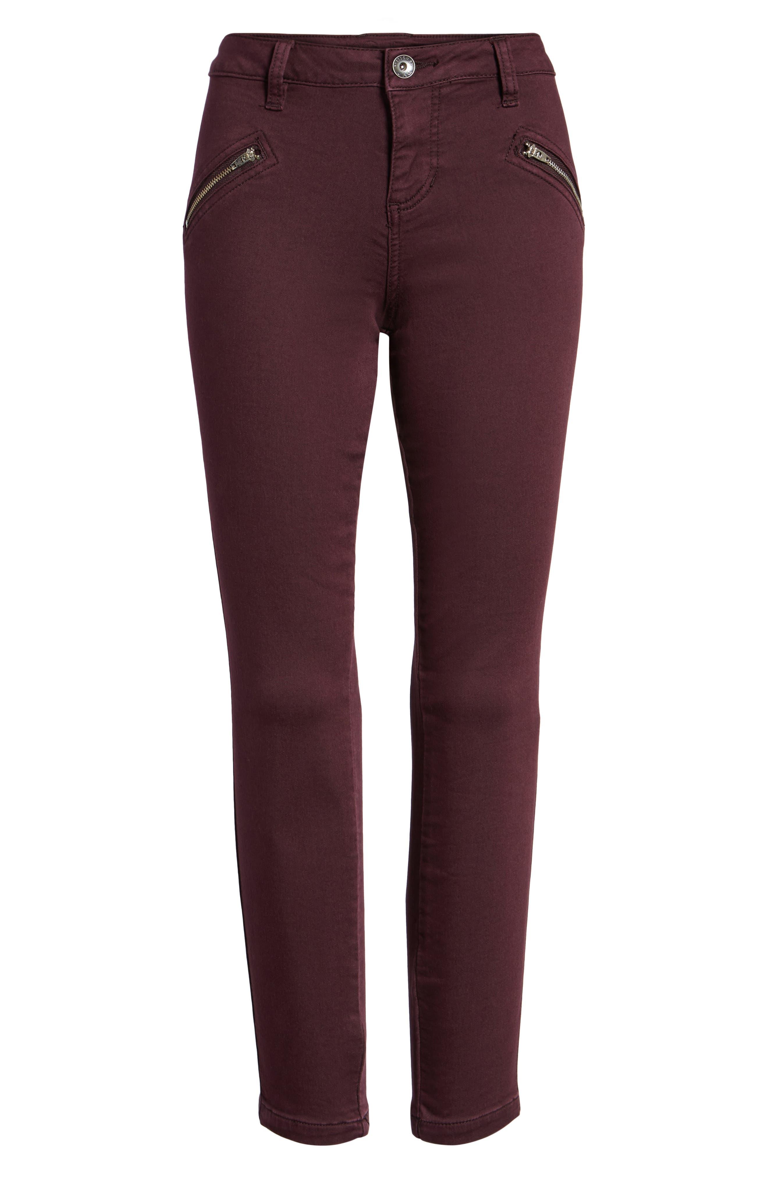 Ryan Knit Skinny Jeans,                             Alternate thumbnail 6, color,                             575