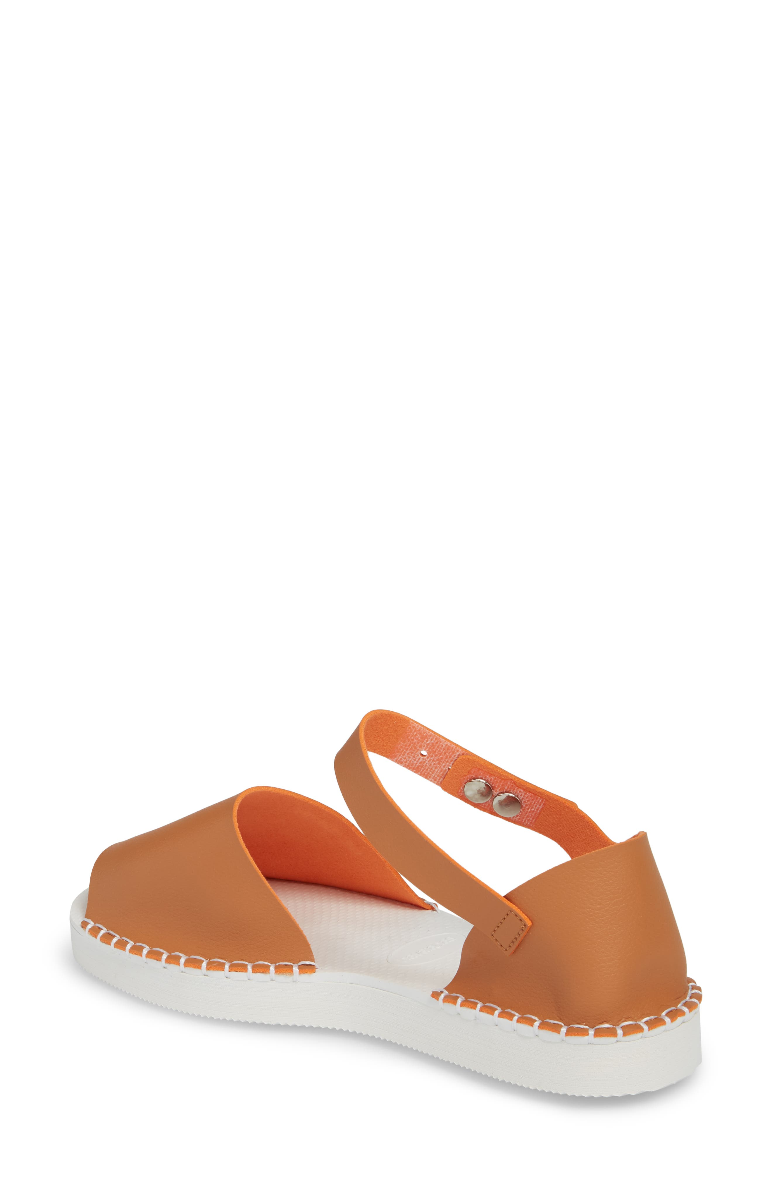 Flatform Fashion Sandal,                             Alternate thumbnail 2, color,                             CAMEL