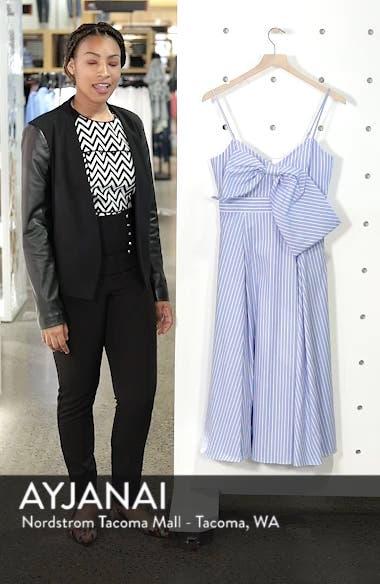 Becky Bow Front Tea Length Dress, sales video thumbnail