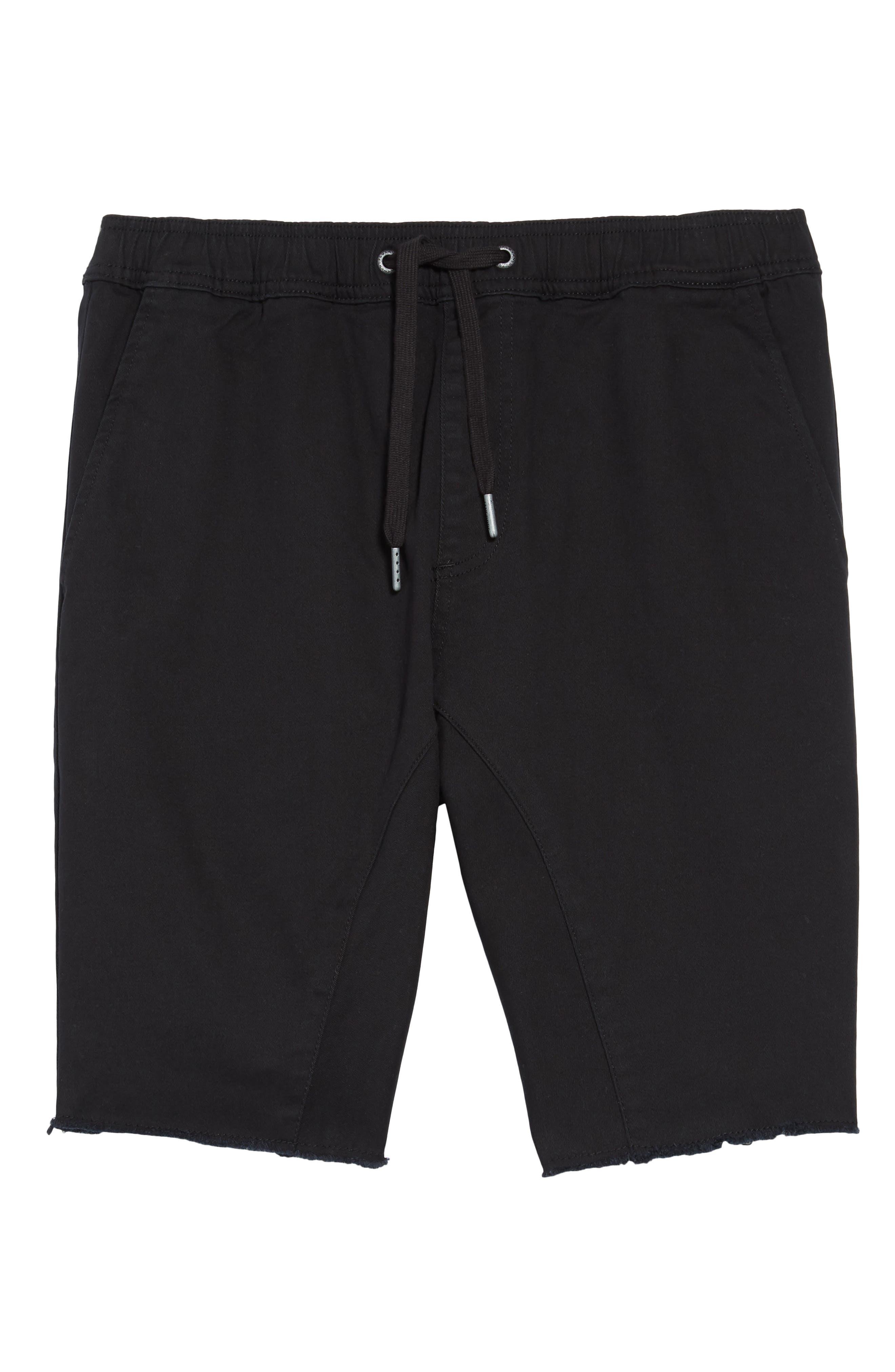 'Sureshot' Shorts,                         Main,                         color, BLACK
