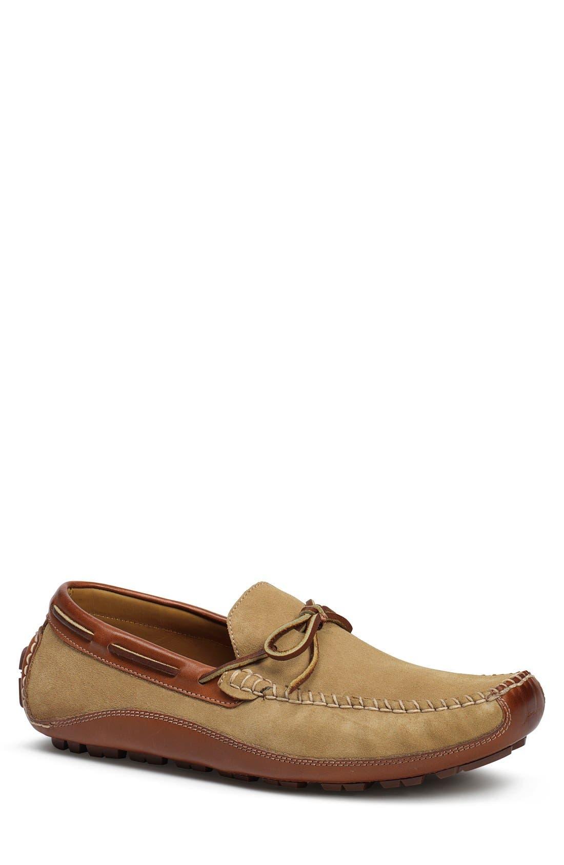 'Drake' Leather Driving Shoe,                             Main thumbnail 6, color,