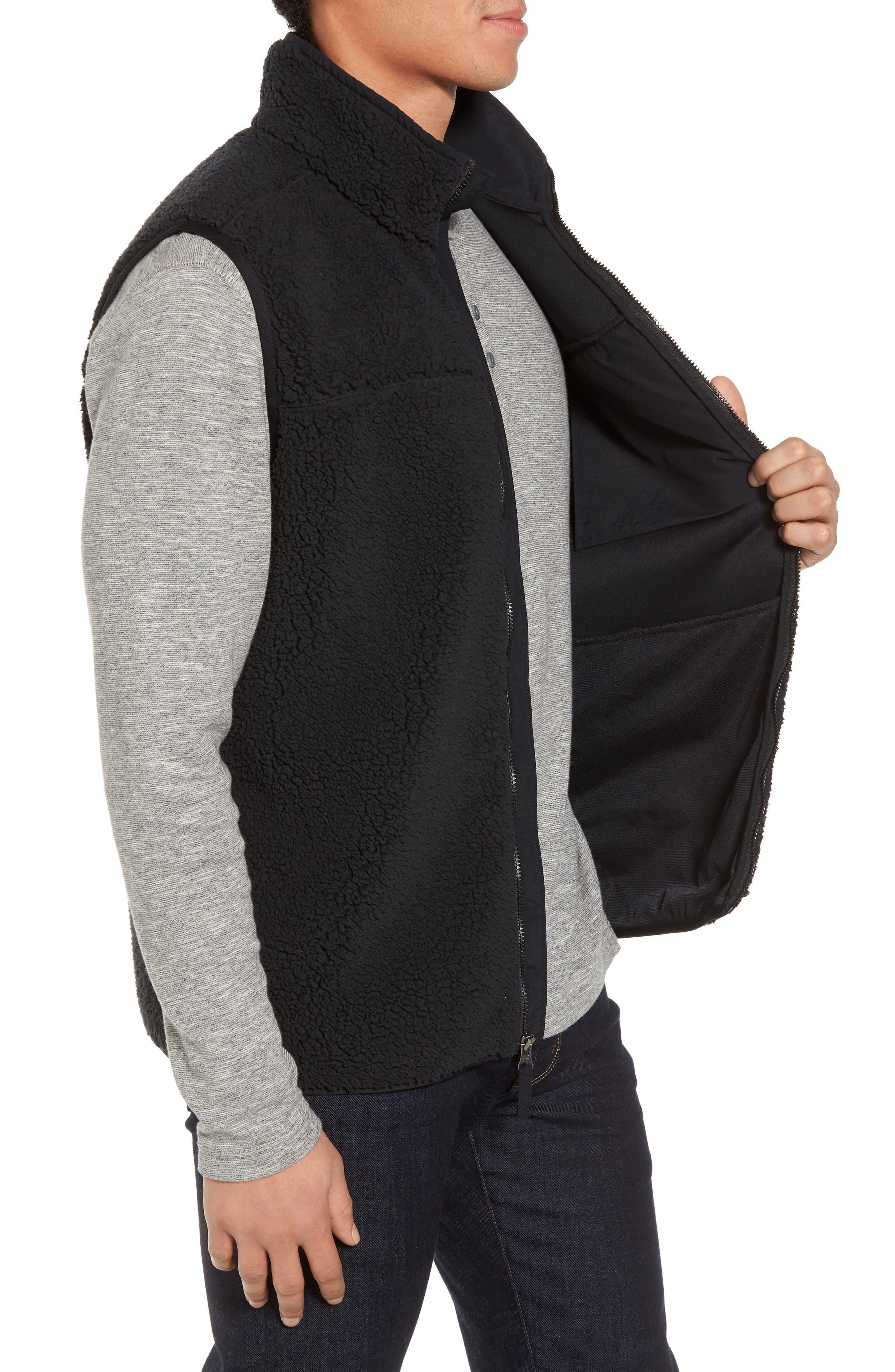 Sportswear Harborside Heavyweight Fleece Vest,                             Alternate thumbnail 3, color,                             010
