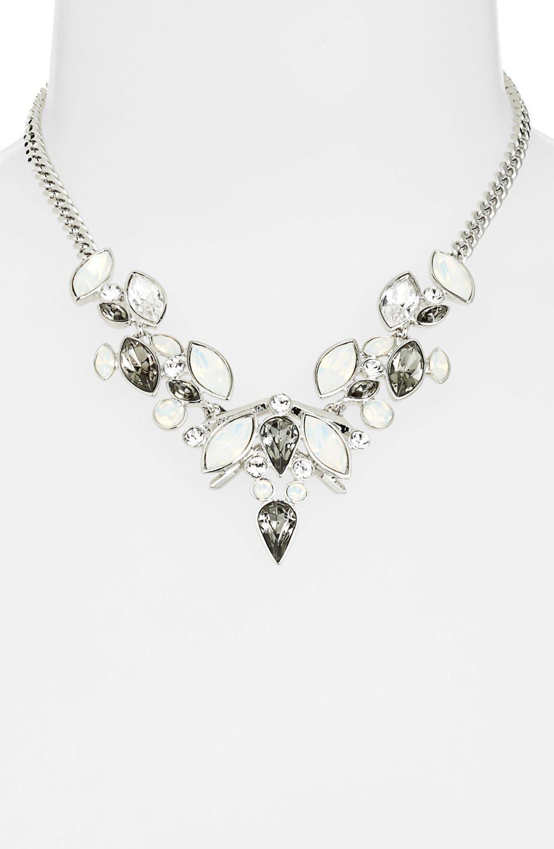 GIVENCHY Bib Necklace, Main, color, 100