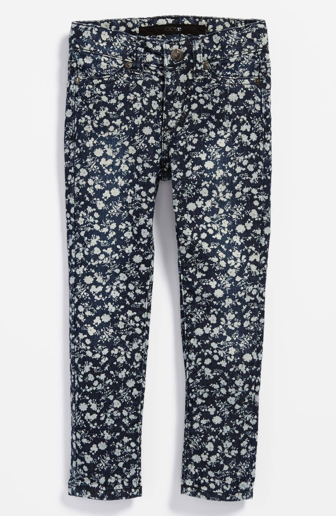 'Mini' Ditsy Floral Jeggings,                         Main,                         color,