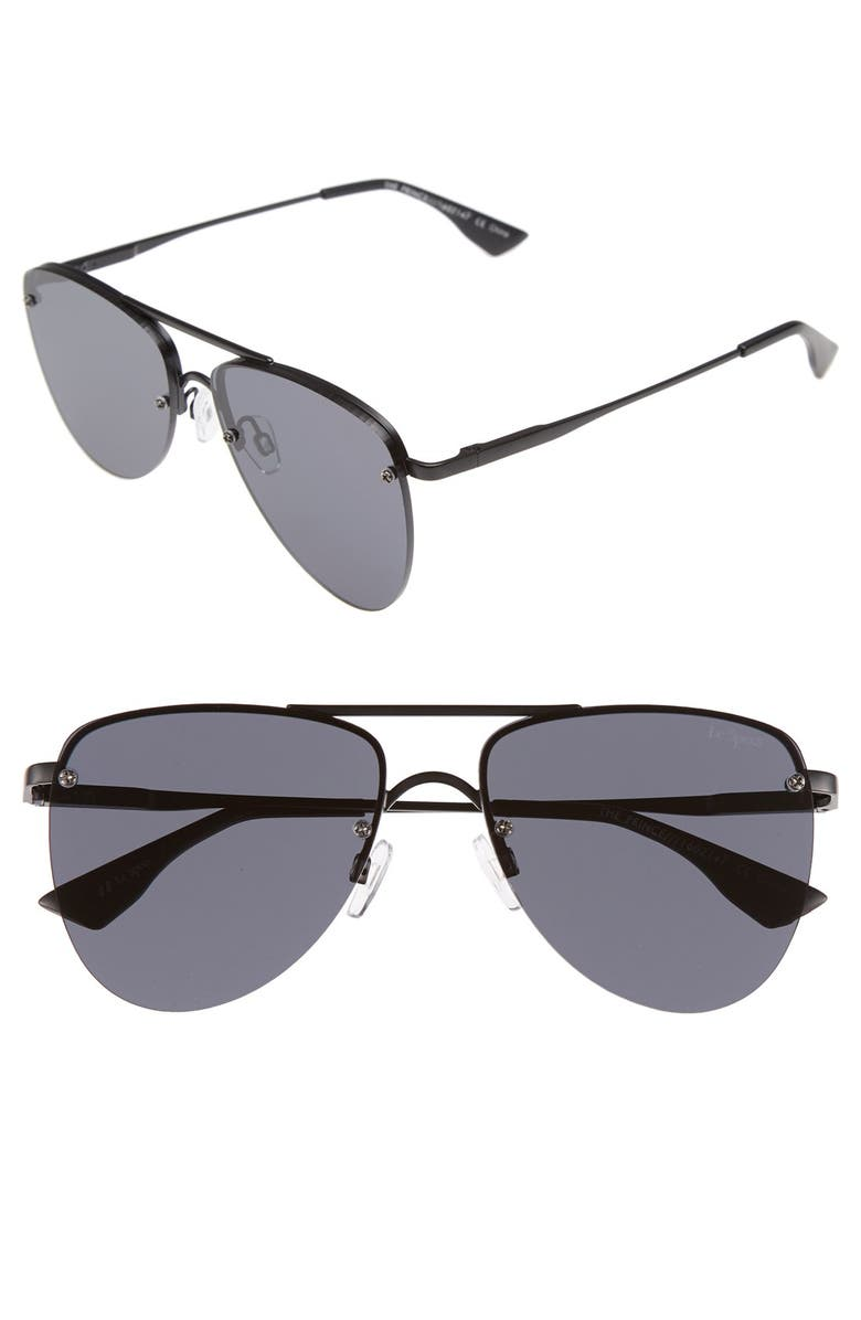 de0da87dcb Le Specs The Prince 57mm Aviator Sunglasses