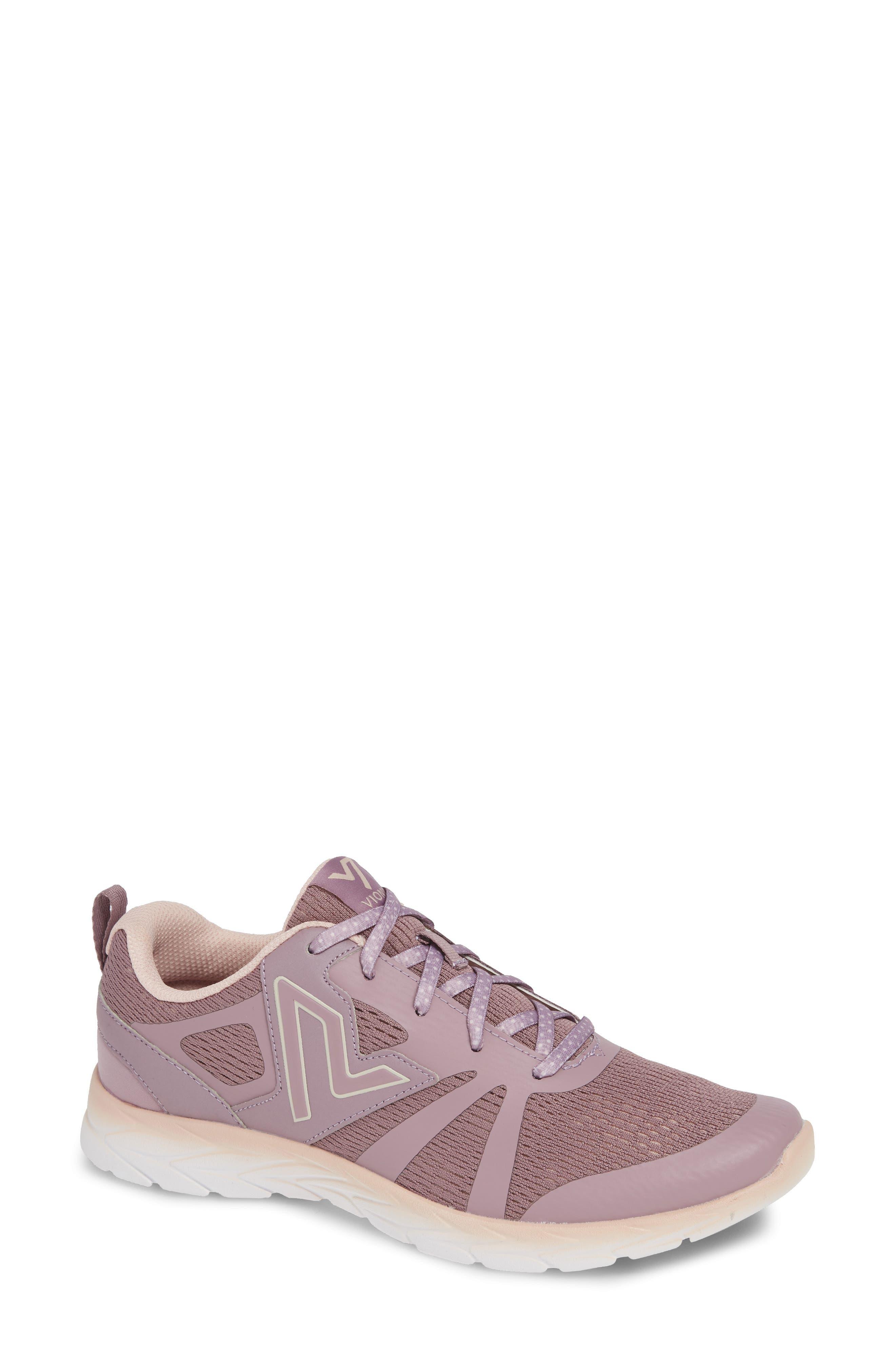 VIONIC Brisk Miles Sneaker, Main, color, MAUVE