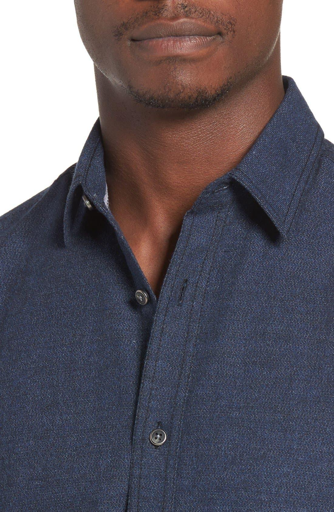 Regular Fit Sport Shirt,                             Alternate thumbnail 6, color,                             400