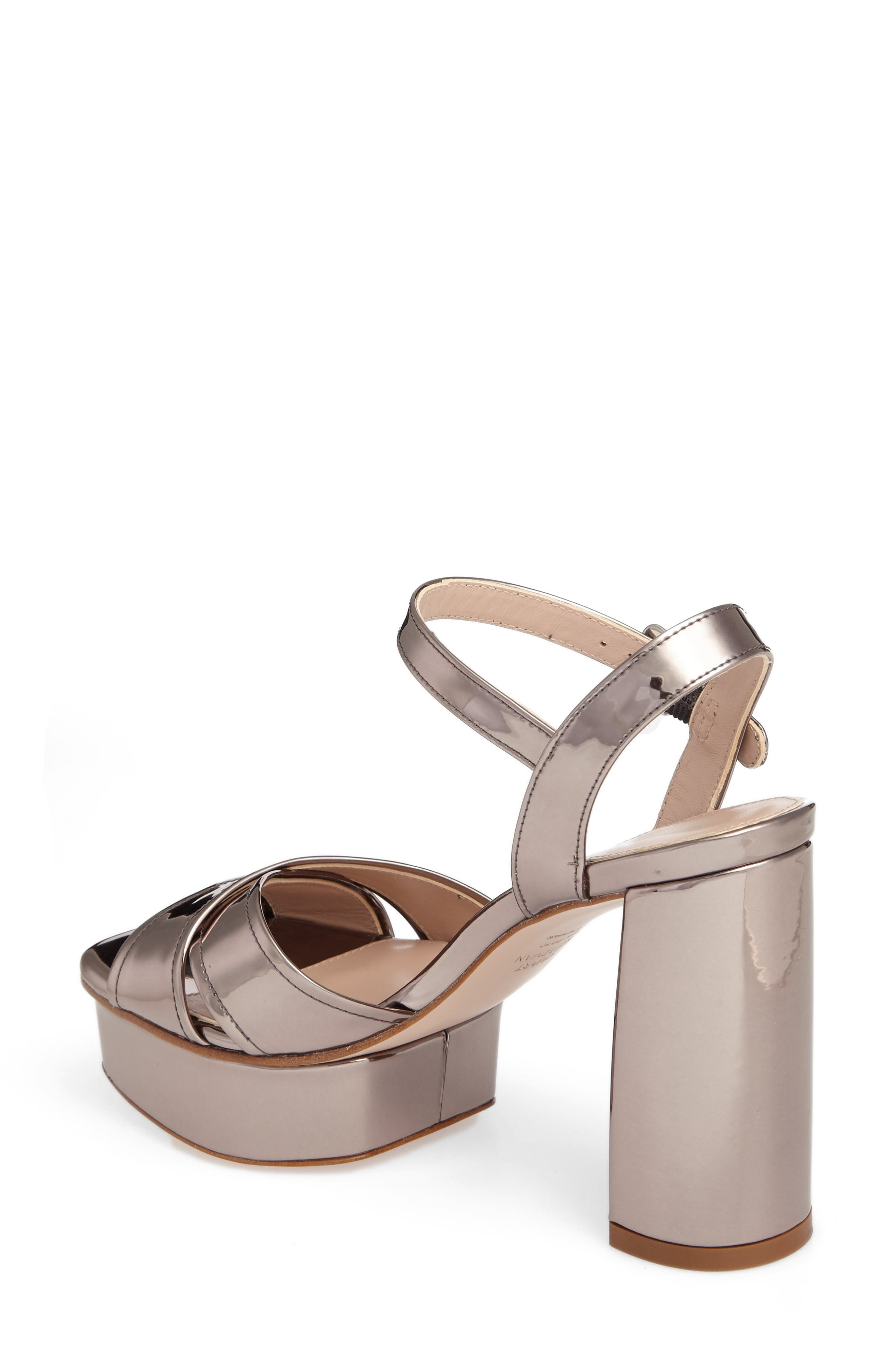 Exposed Platform Sandal,                             Alternate thumbnail 10, color,