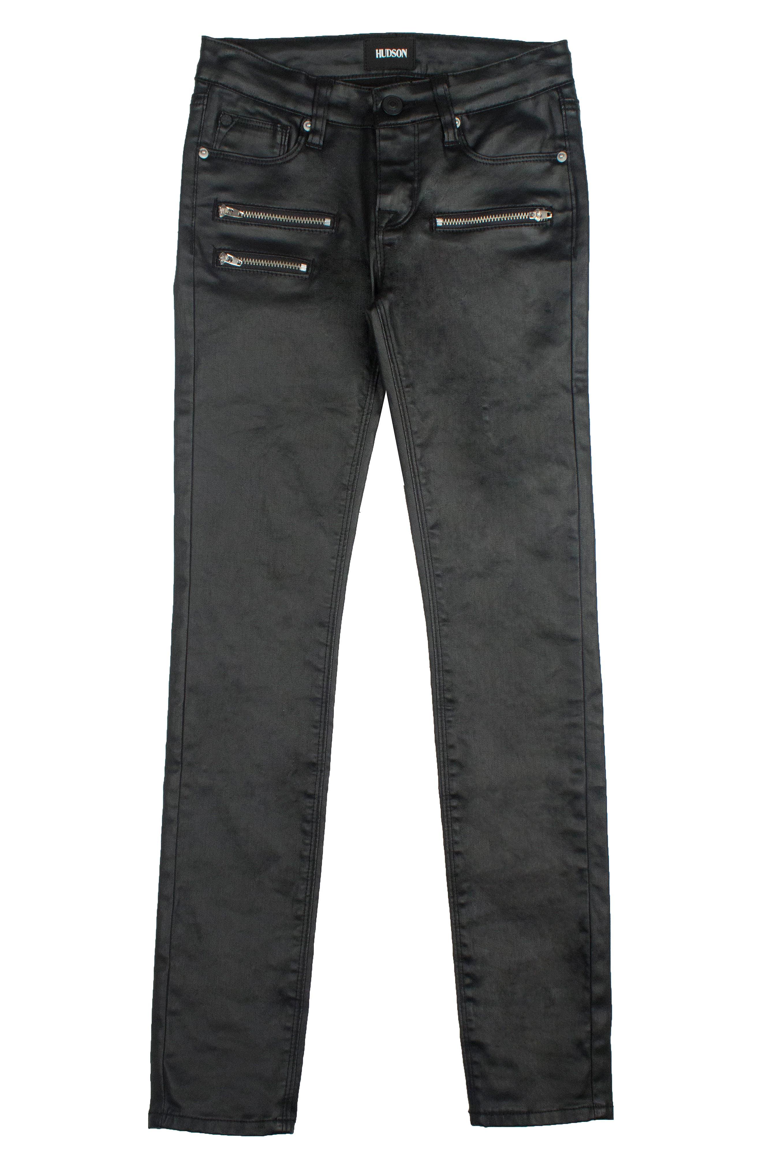 HUDSON KIDS Ziggy Skinny Jeans, Main, color, 003