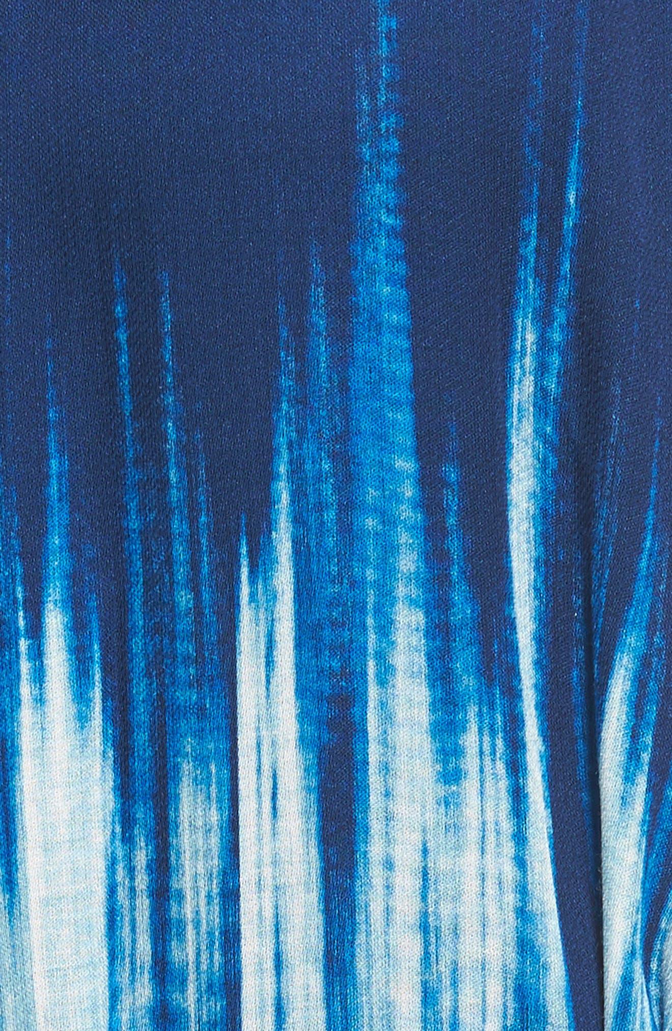 Petra Tie Neck Maxi Dress,                             Alternate thumbnail 5, color,                             400