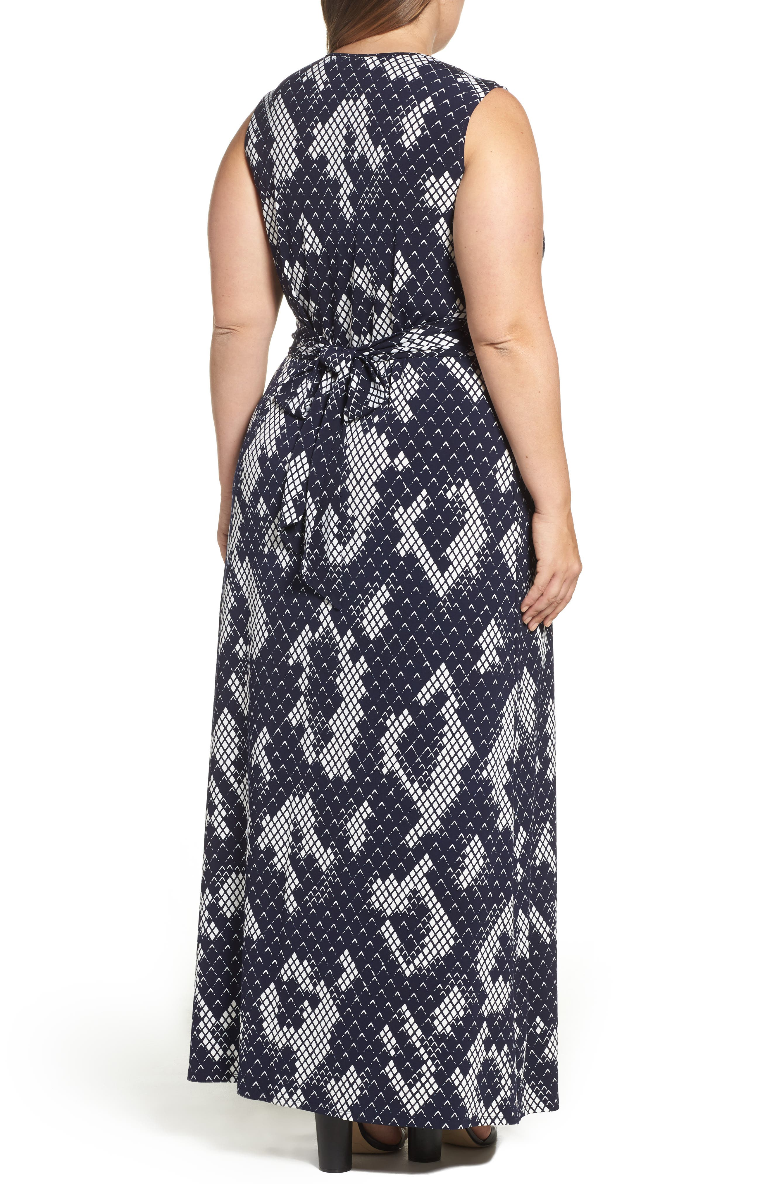 Knot Front Maxi Dress,                             Alternate thumbnail 2, color,                             407