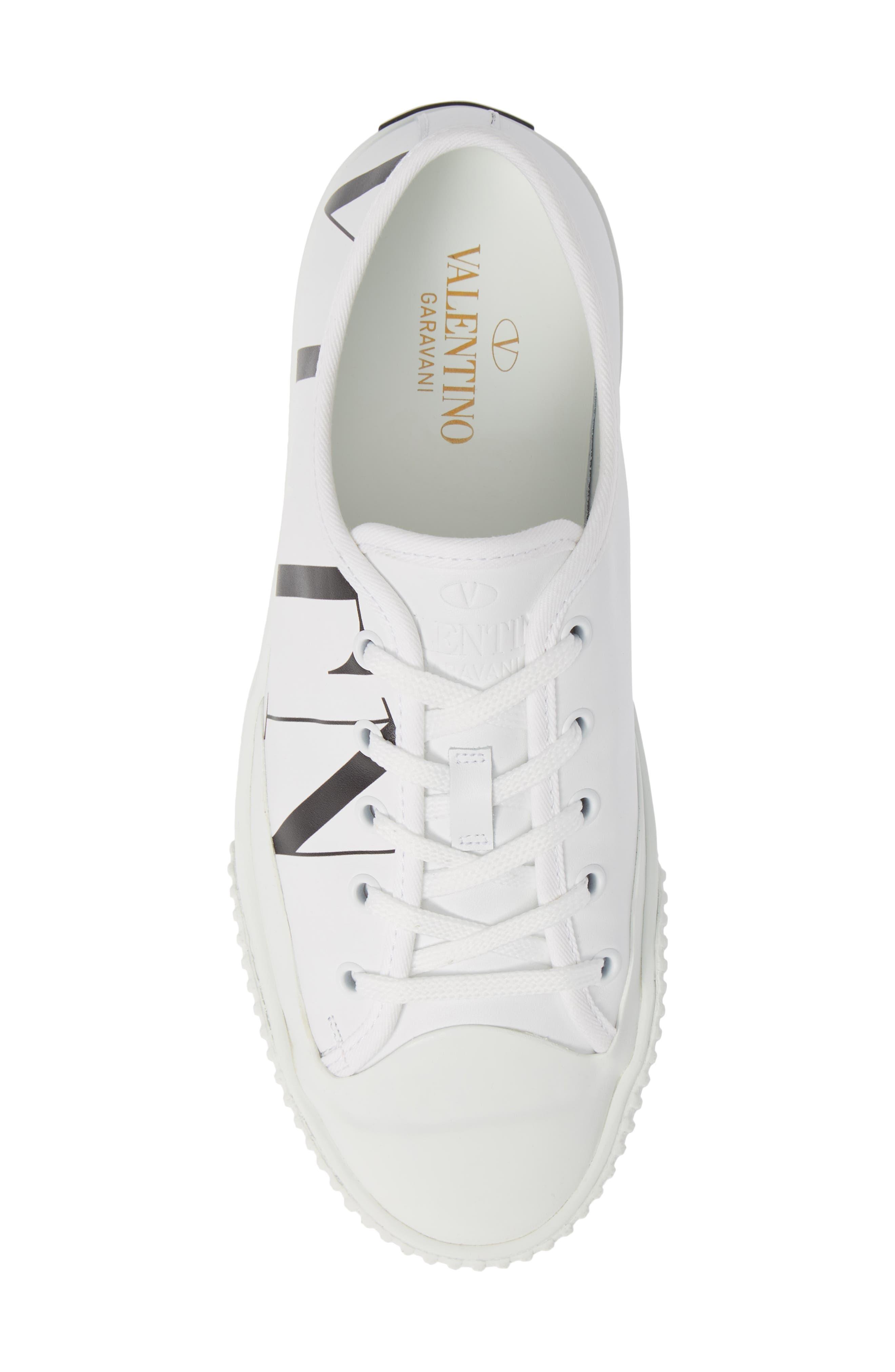 VLTN Low Top Sneaker,                             Alternate thumbnail 5, color,                             102