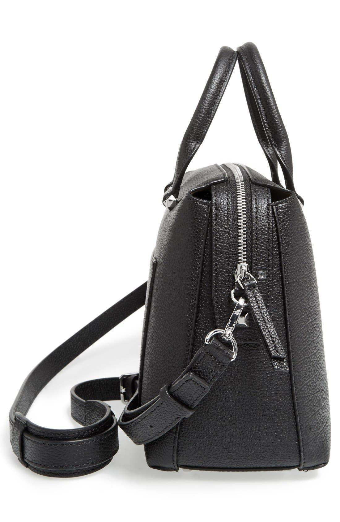 Medium Ella Boston Bowler Bag,                             Alternate thumbnail 10, color,