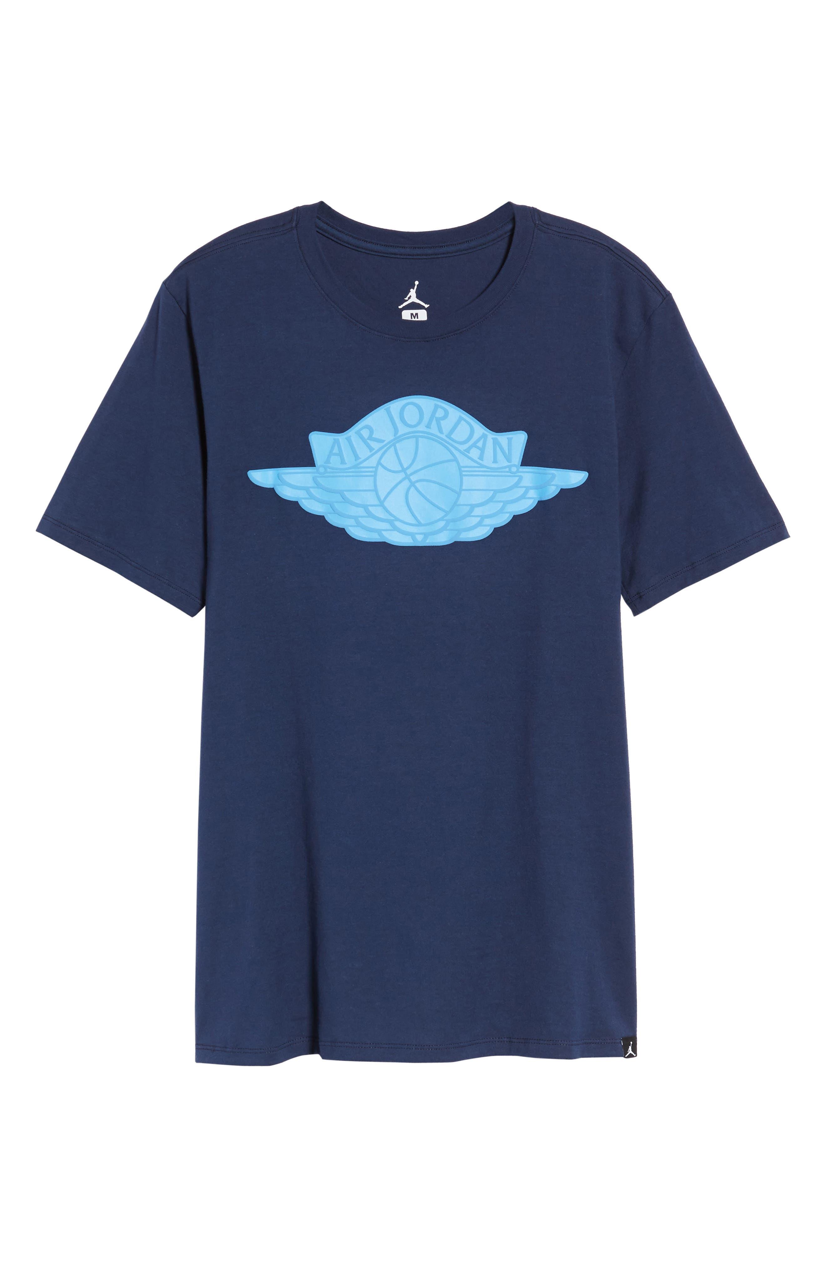 Sportswear Wings Logo Graphic T-Shirt,                             Alternate thumbnail 17, color,
