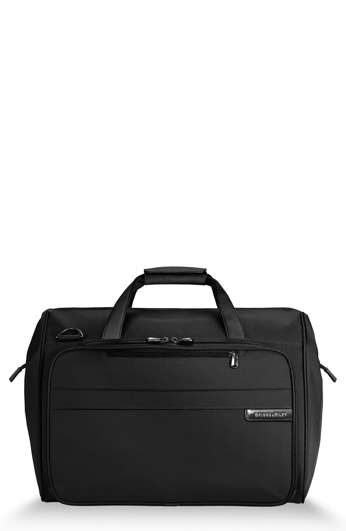 'Baseline' Duffel Bag,                         Main,                         color, BLACK