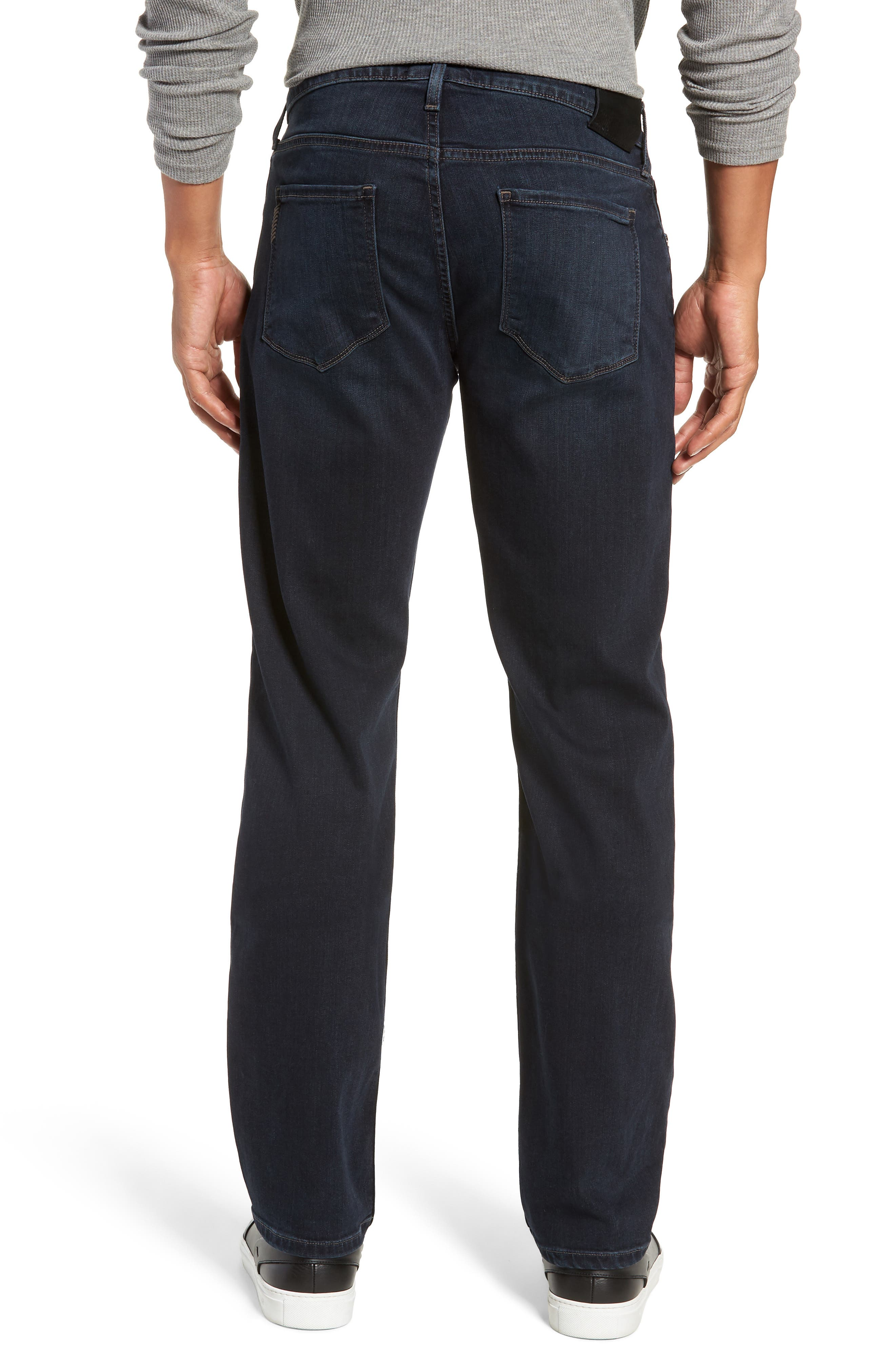 Transcend - Normandie Straight Leg Jeans,                             Alternate thumbnail 2, color,                             LARK