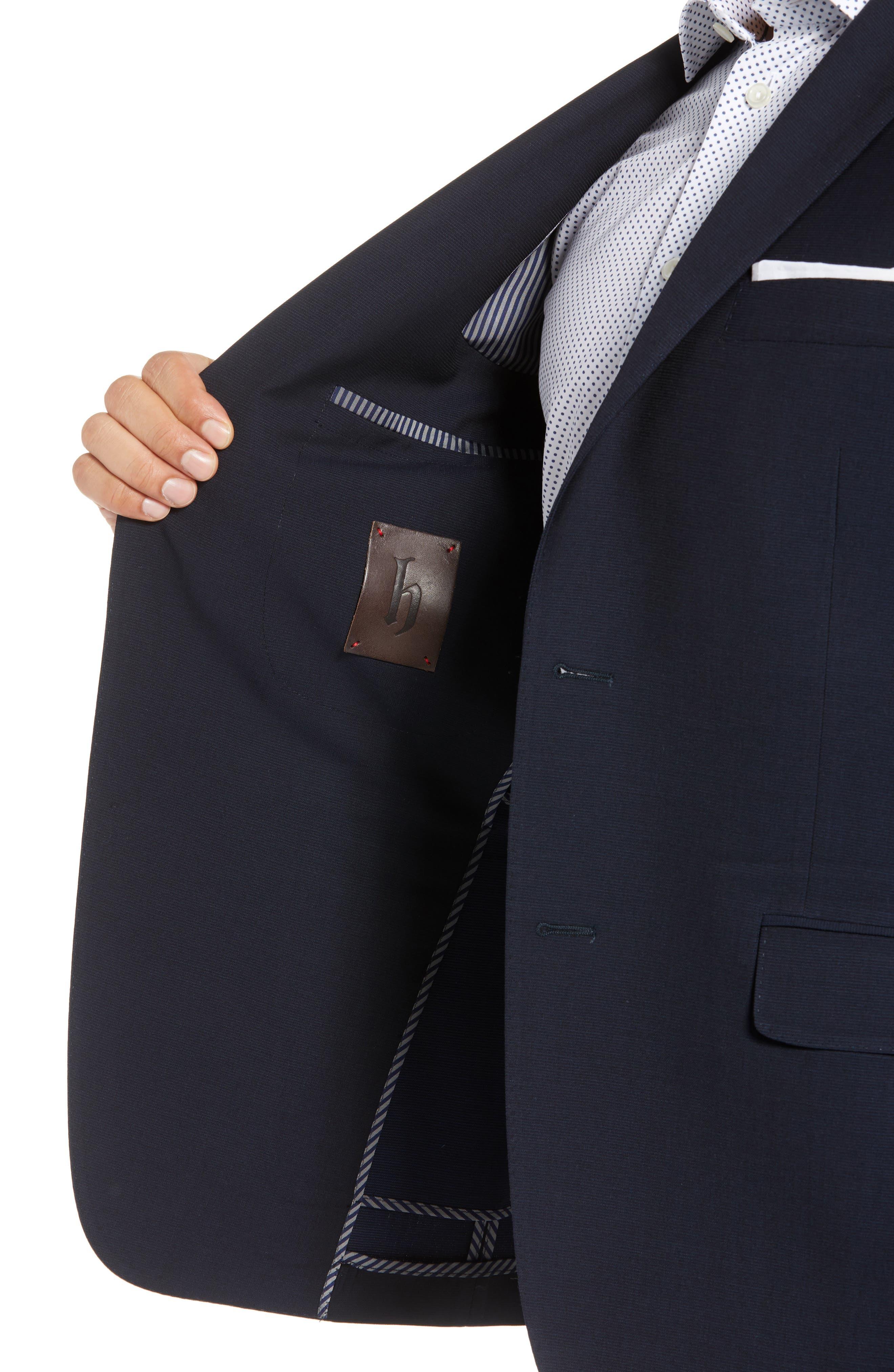 Classic Fit Wool Blazer,                             Alternate thumbnail 4, color,                             400