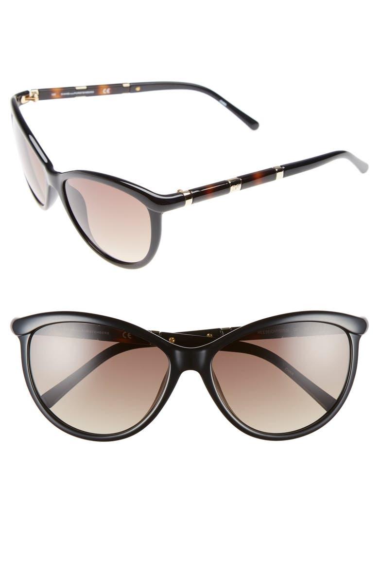 223ce361013 Diane von Furstenberg  Reese  58mm Cat Eye Sunglasses