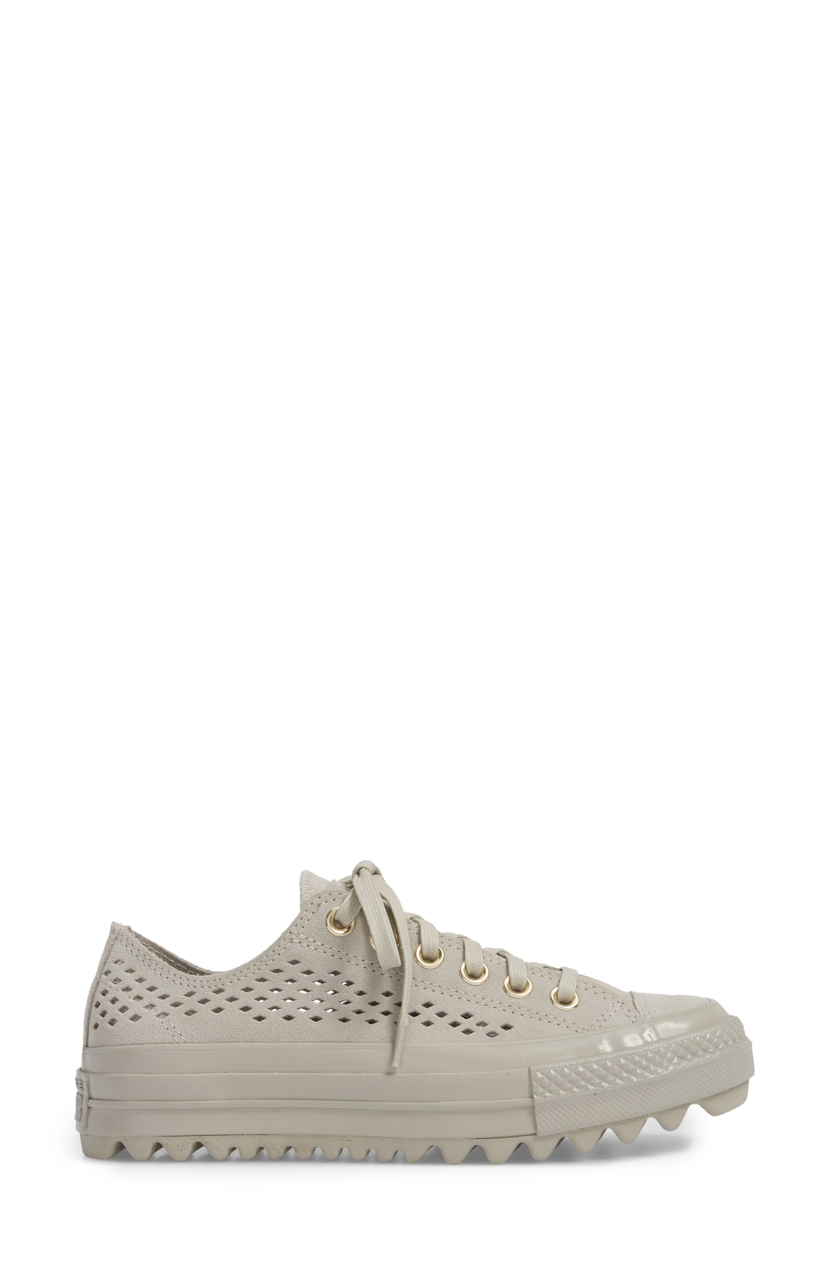 Chuck Taylor<sup>®</sup> All Star<sup>®</sup> Lift Ripple Sneaker,                             Alternate thumbnail 3, color,                             081