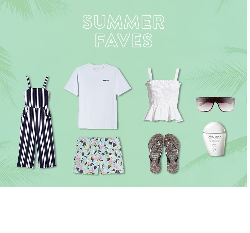 Summer picks under $80 for women, men and kids.