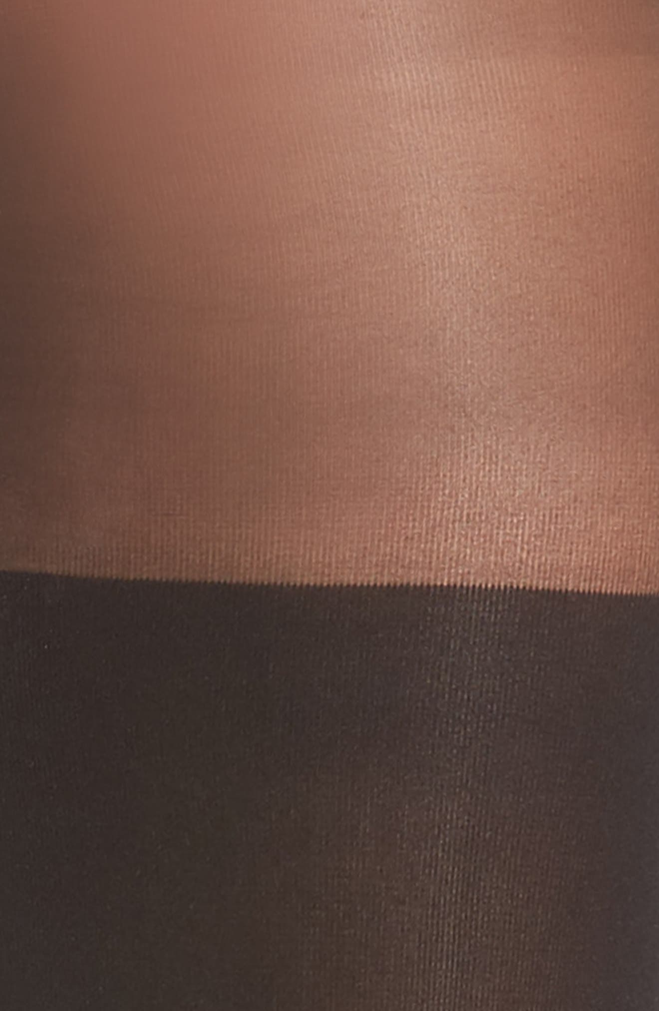Illusion Thigh High Pantyhose,                             Alternate thumbnail 2, color,