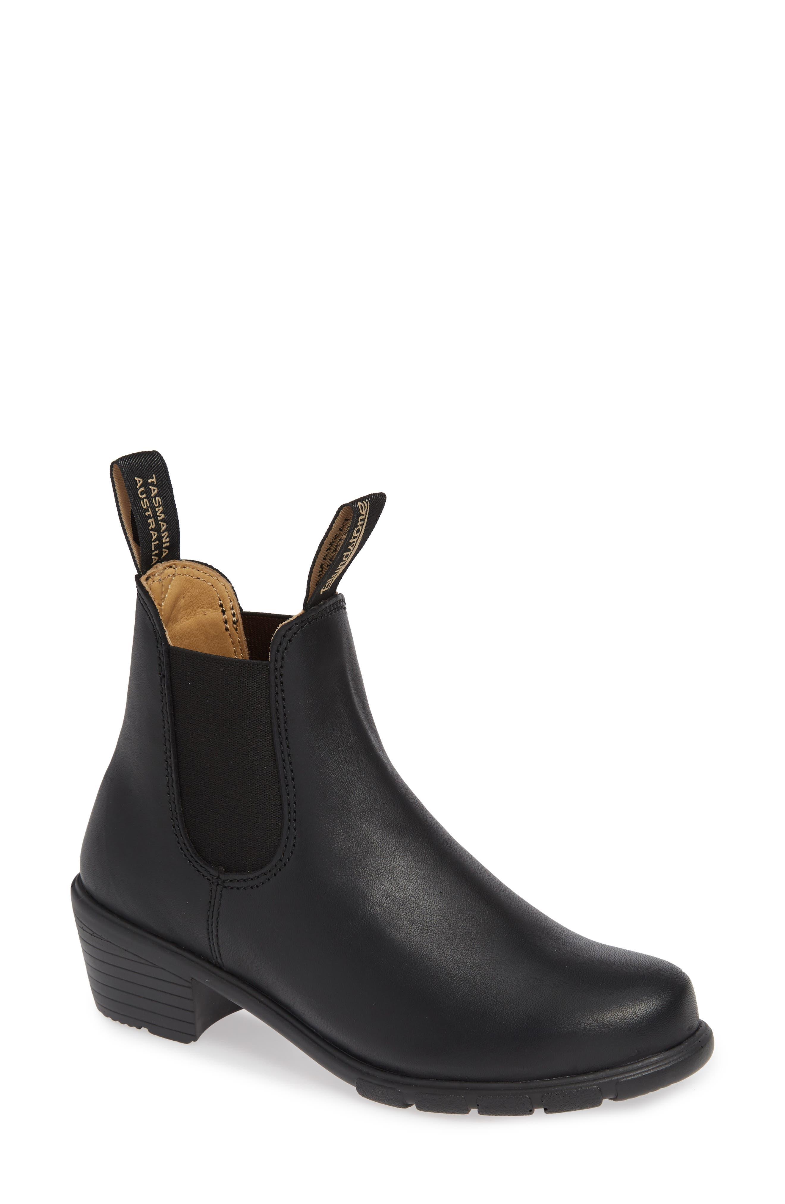 1671 Chelsea Boot,                             Main thumbnail 1, color,                             BLACK LEATHER