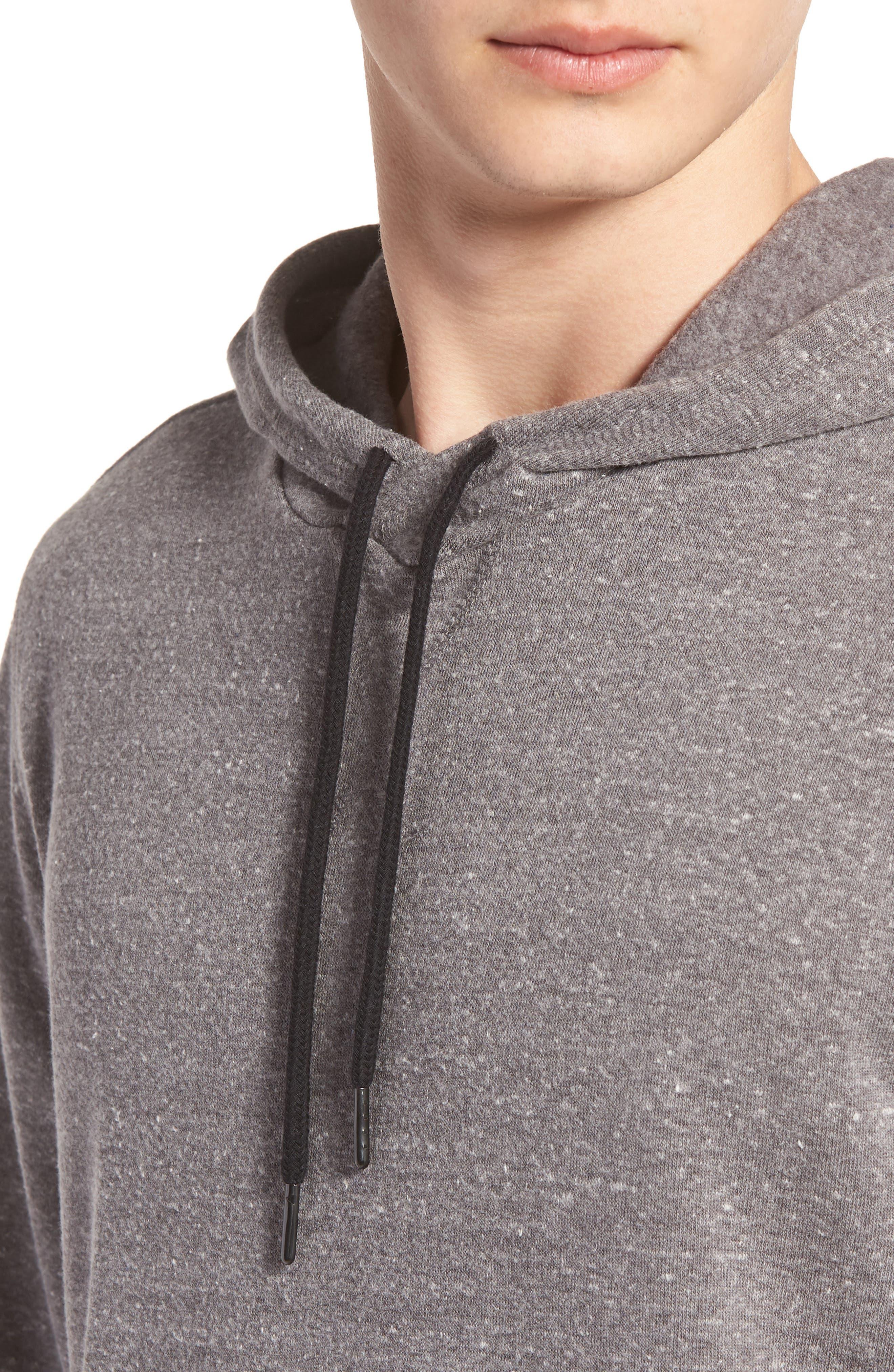 Barkeley Side Zip Hoodie Sweatshirt,                             Alternate thumbnail 4, color,                             020