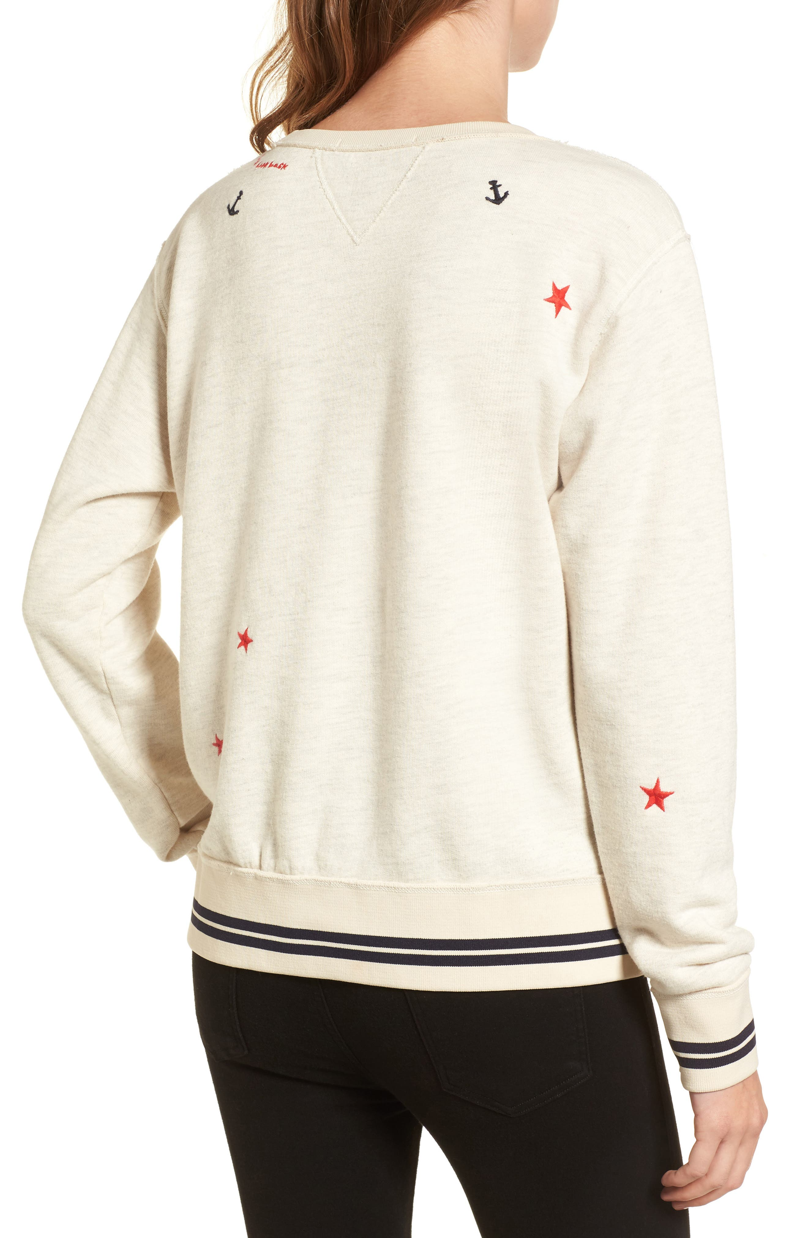 Nautical Sweatshirt,                             Alternate thumbnail 2, color,                             900