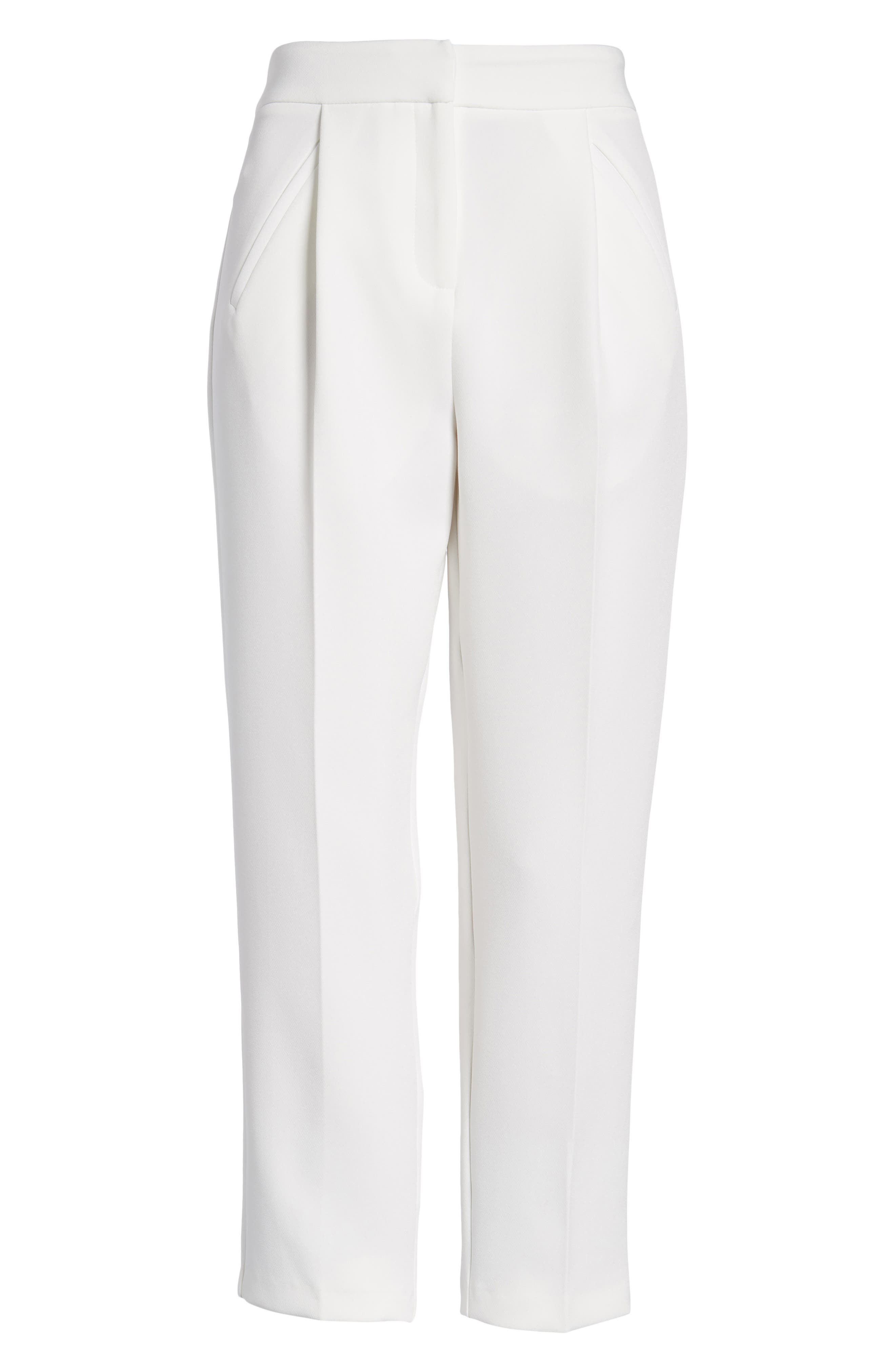 Clean Pocket Peg Trousers,                             Alternate thumbnail 7, color,                             900