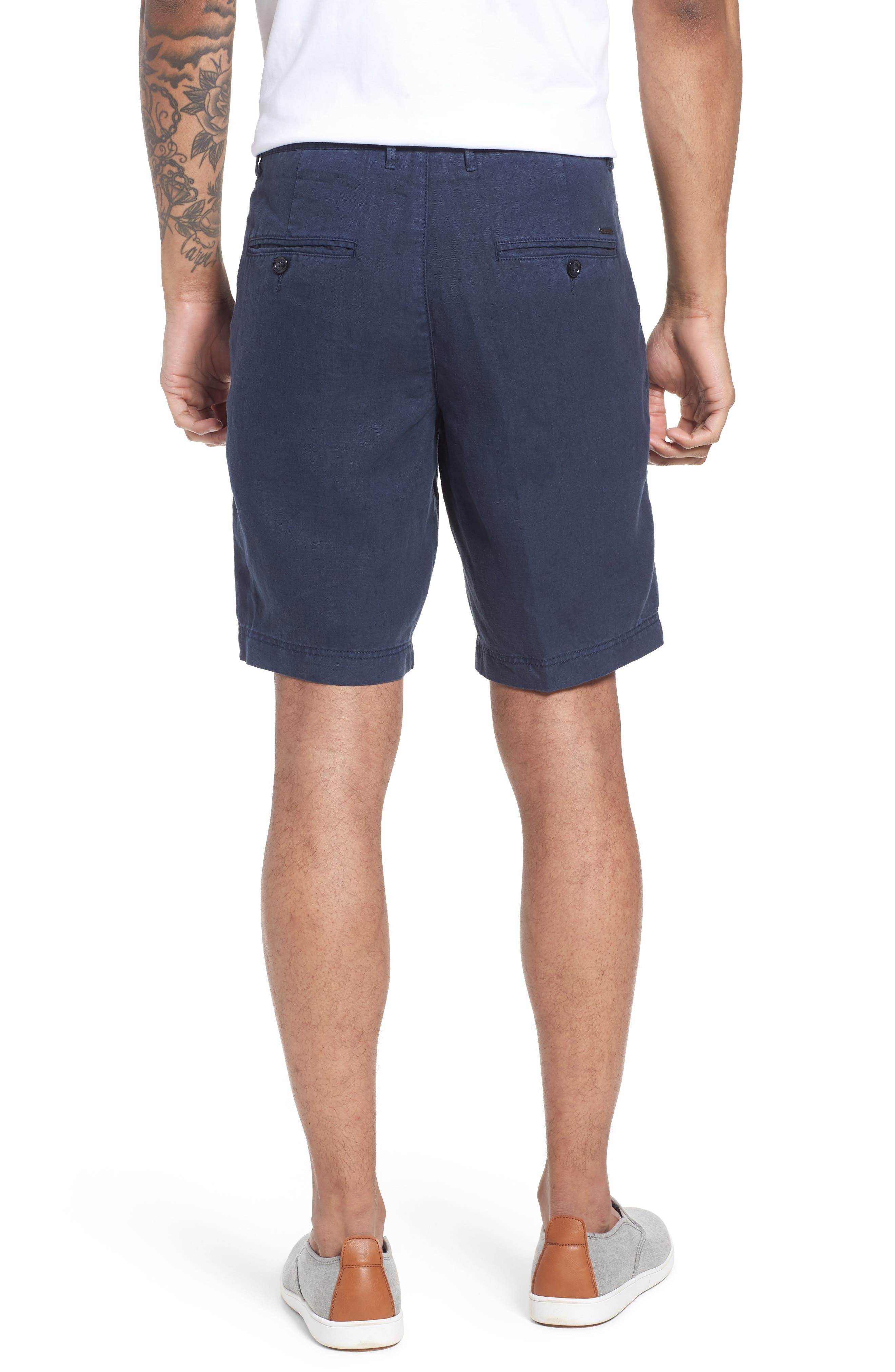 Crigan Linen Shorts,                             Alternate thumbnail 10, color,