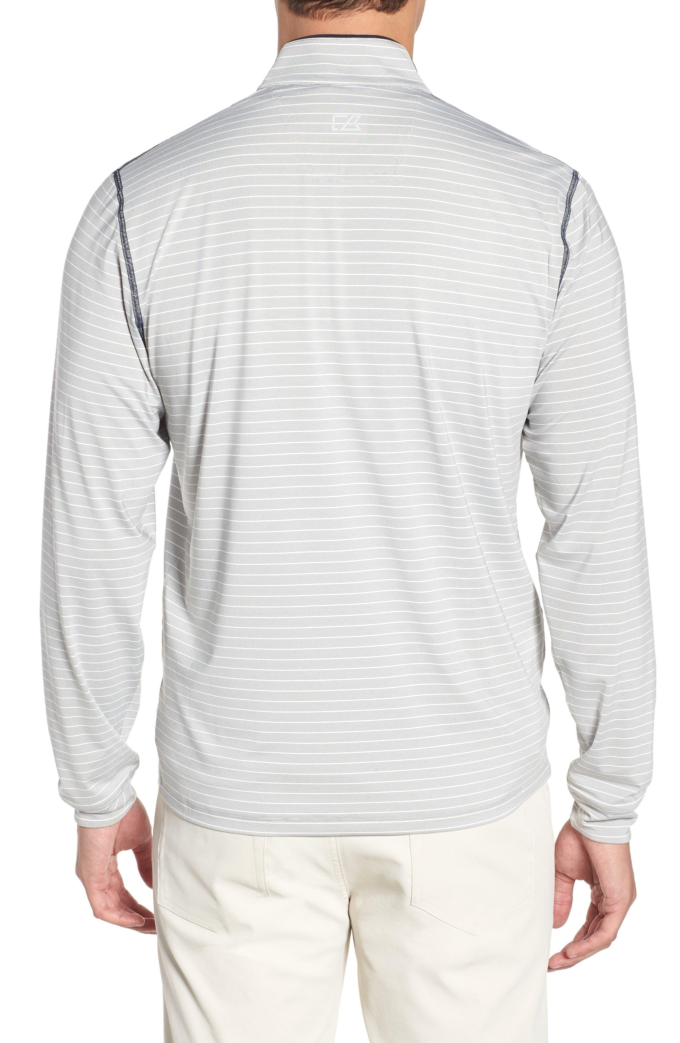 Seattle Seahawks - Meridian Half Zip Pullover,                             Alternate thumbnail 2, color,                             NAVY