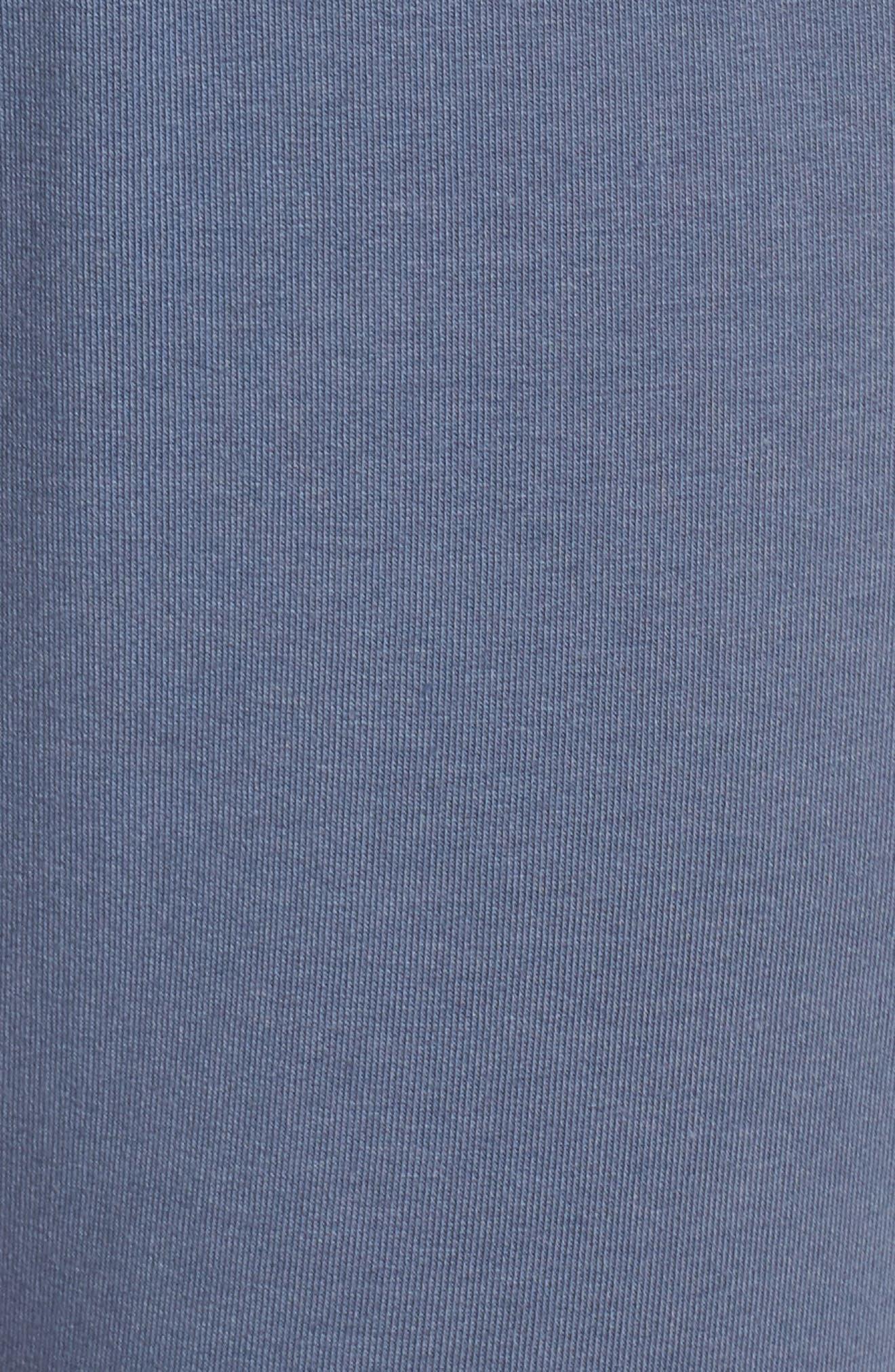 ZELLA, Repeat High Waist Crop Jogger Pants, Alternate thumbnail 6, color, BLUE VINTAGE
