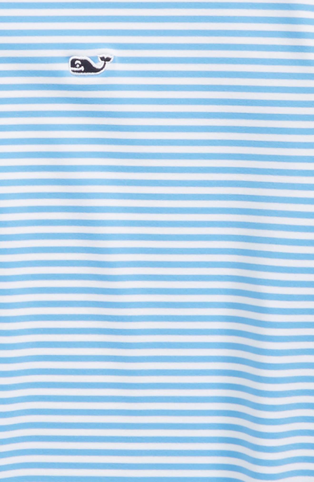 Feeder Stripe Performance Polo,                             Alternate thumbnail 8, color,