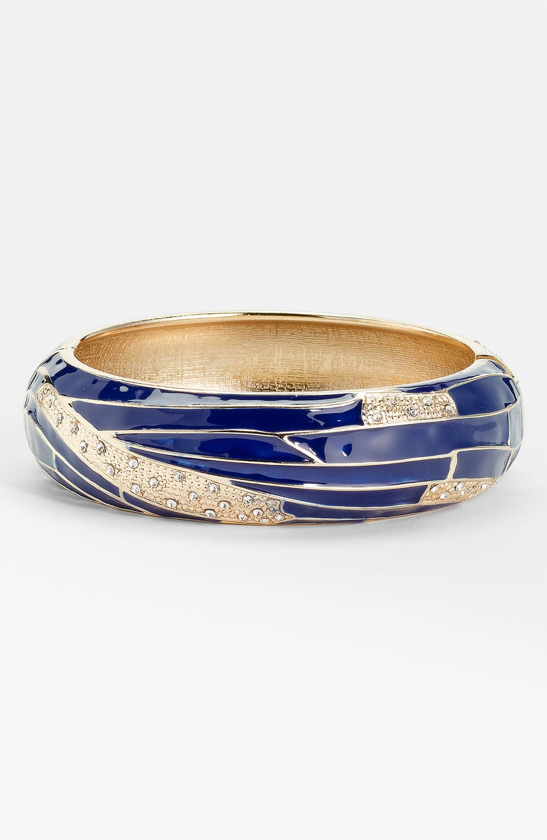 Large Insect Wing Enamel Bangle,                             Main thumbnail 9, color,