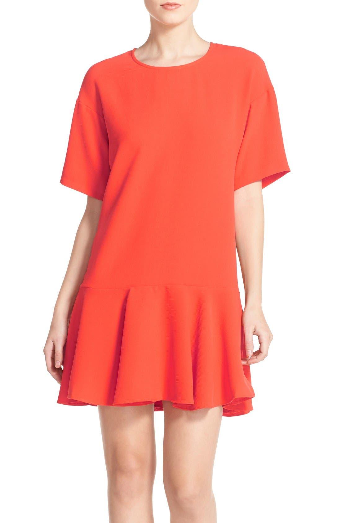 Drop Waist Knit Dress,                             Main thumbnail 3, color,