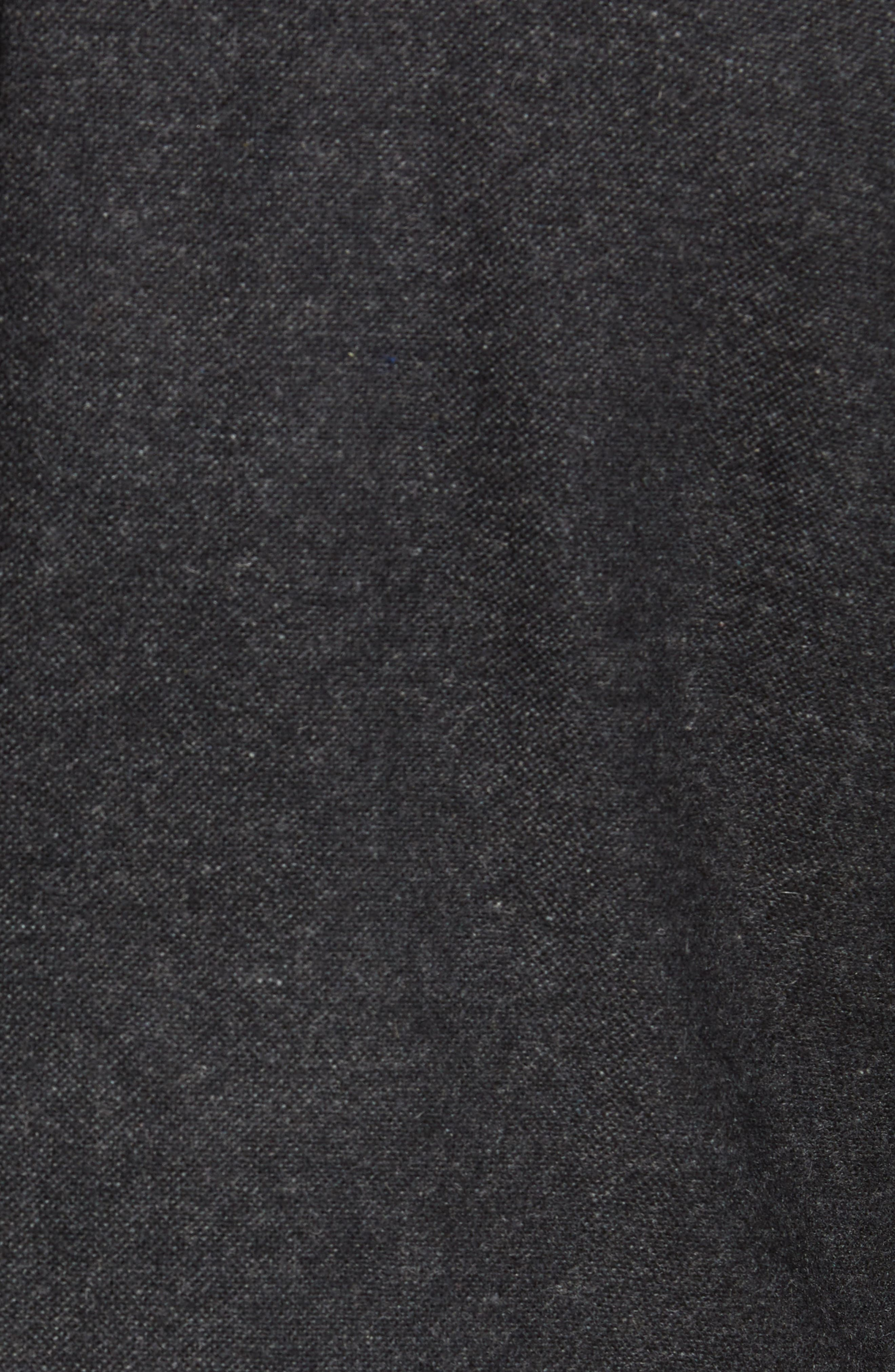 Slim Fit Myloiver Wool Blend Blazer,                             Alternate thumbnail 6, color,                             DARK GREY