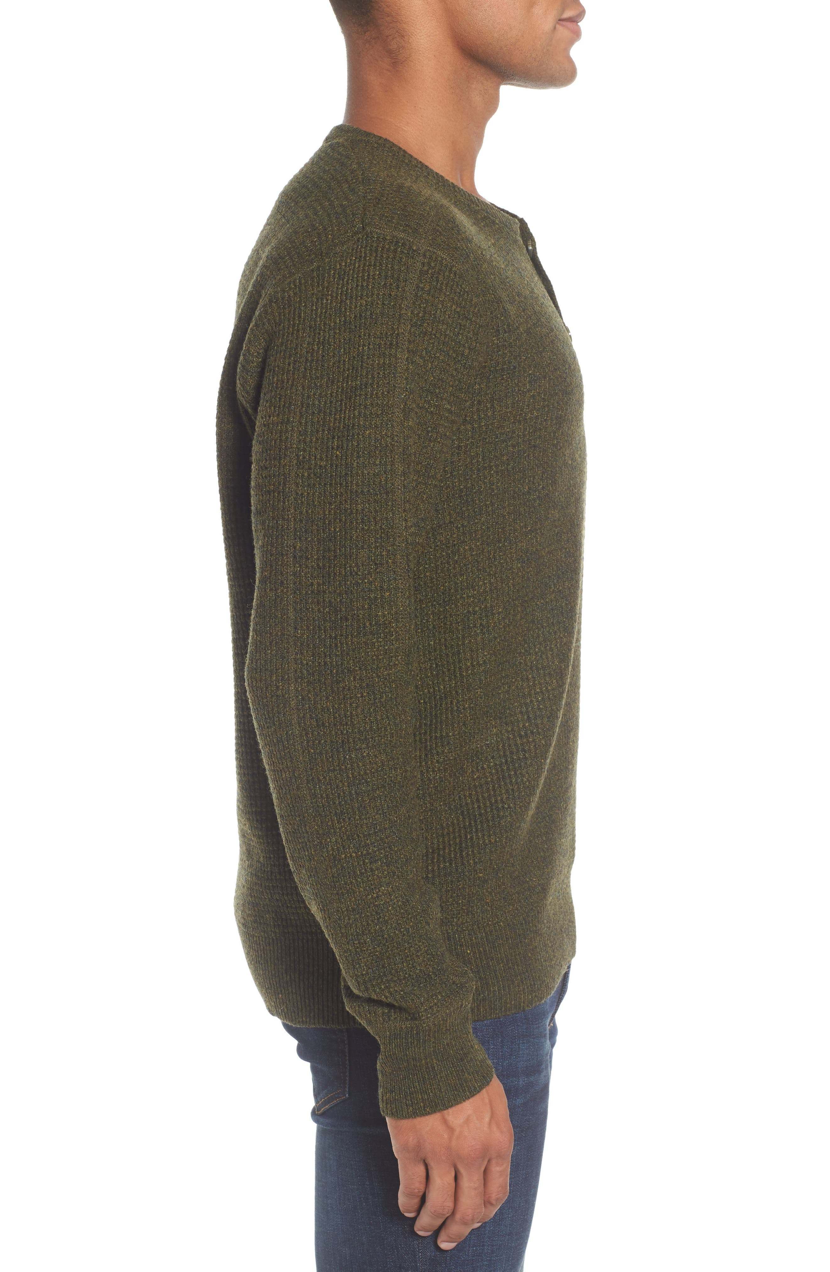 Thermal Henley,                             Alternate thumbnail 18, color,