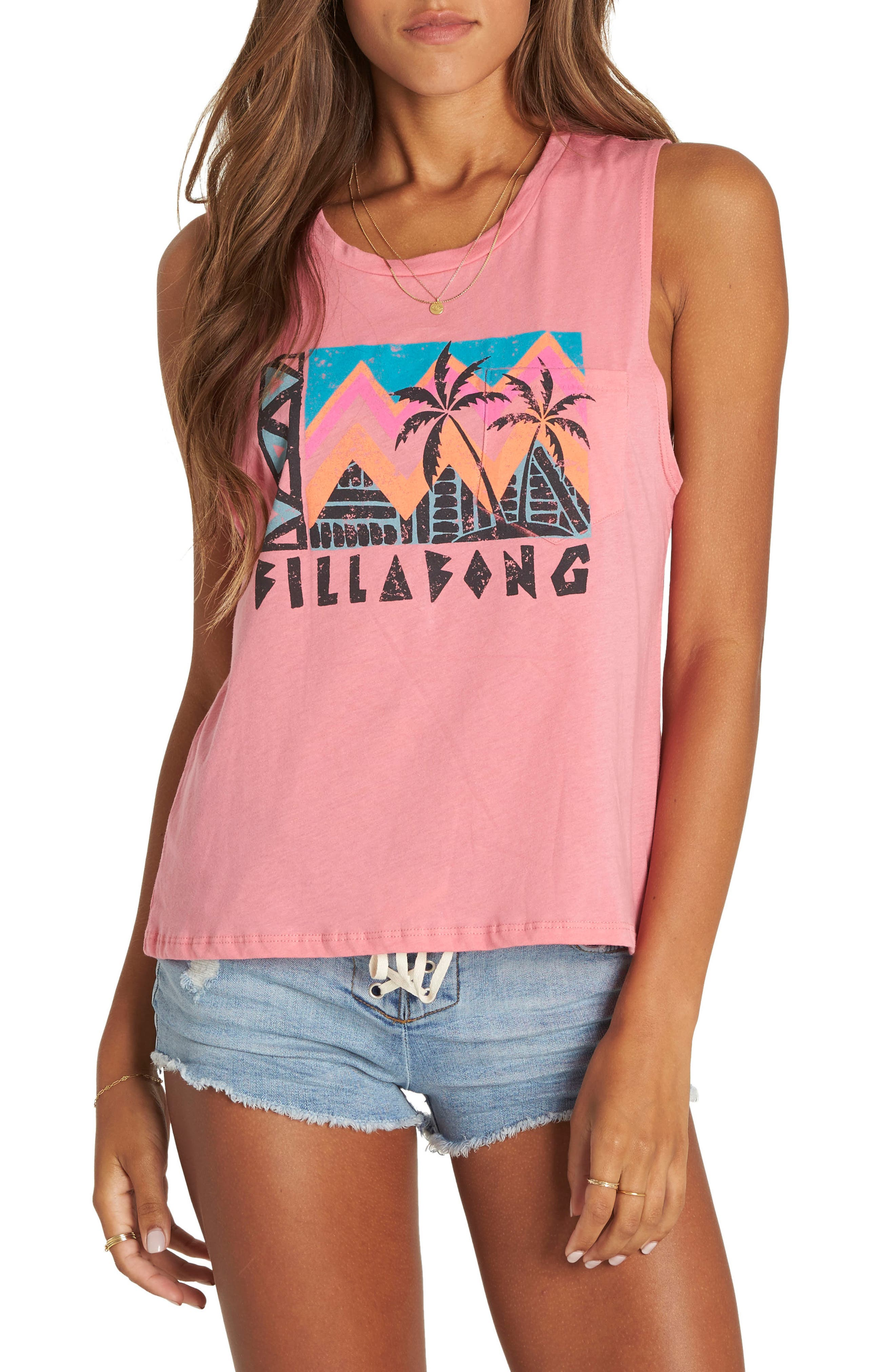 Find Your Tribe Graphic Muscle Tee,                         Main,                         color, 650