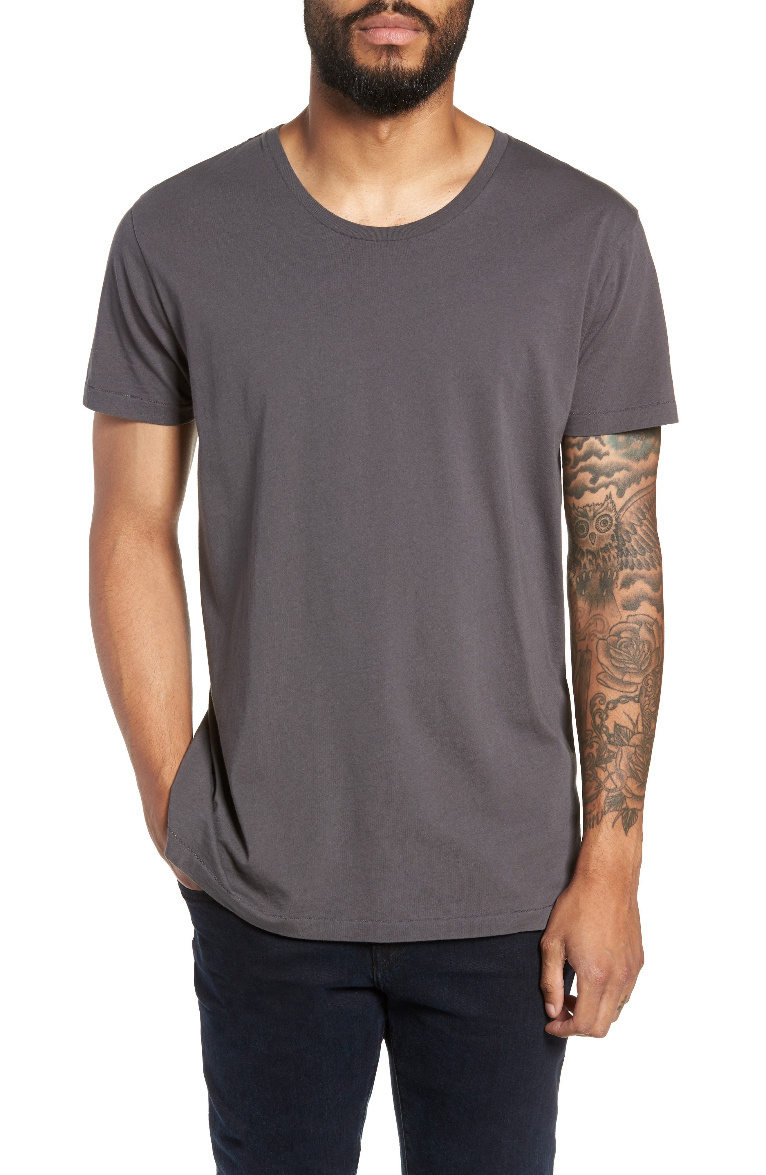Alias Relaxed Fit T-Shirt,                             Main thumbnail 1, color,                             DARK ANTRACITE