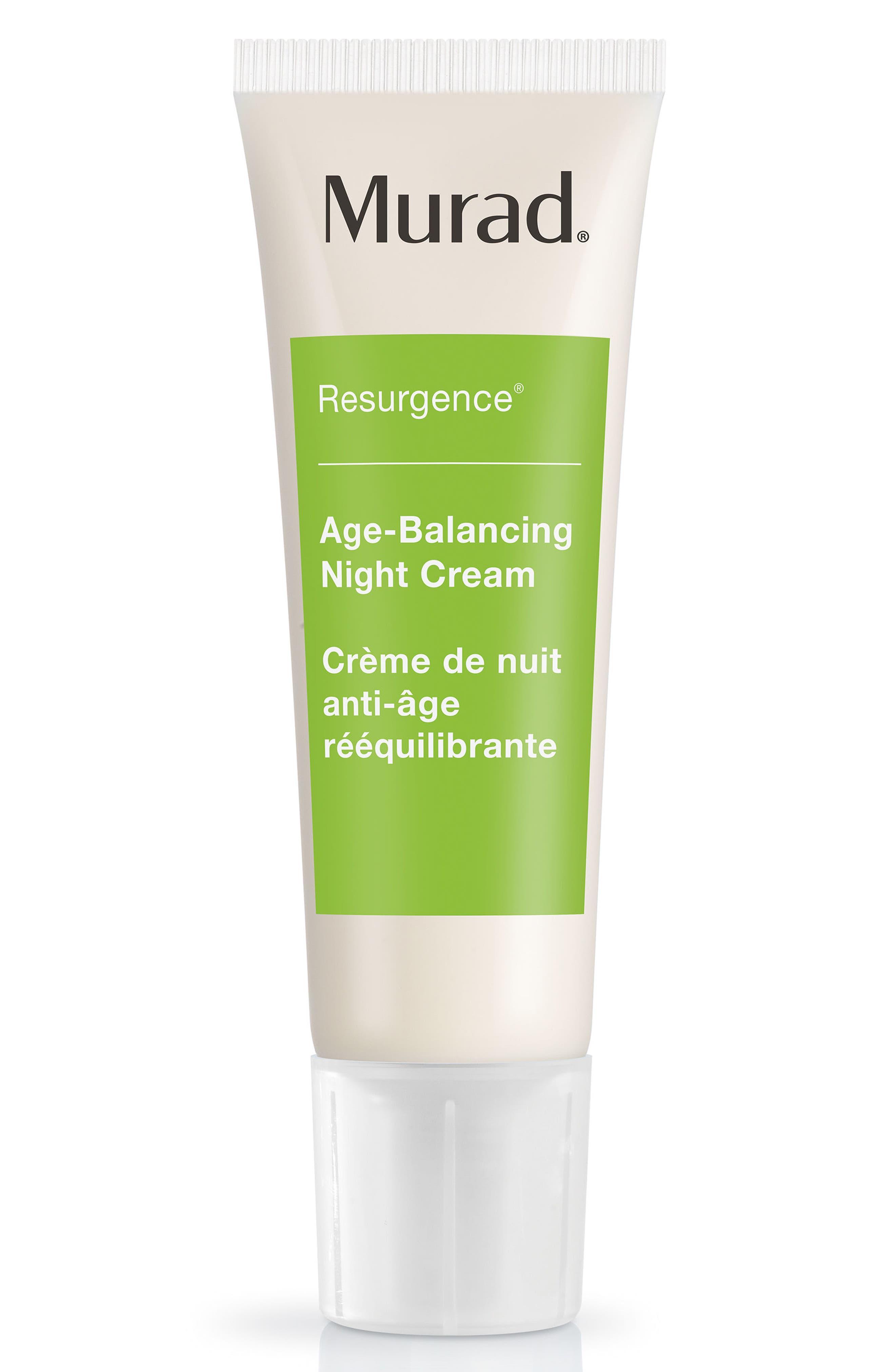 Age-Balancing Night Cream,                             Alternate thumbnail 2, color,                             NO COLOR