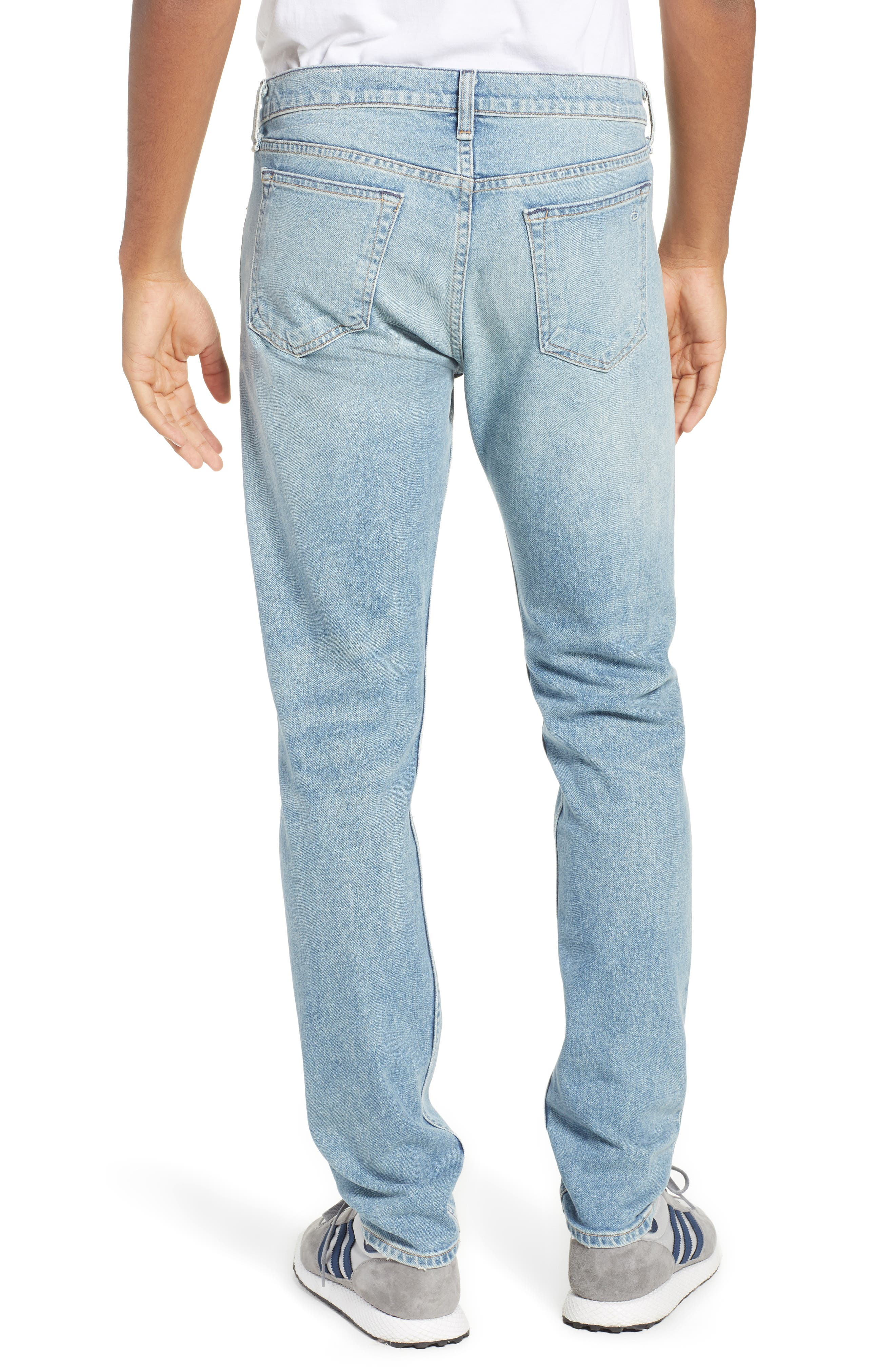 Fit 2 Slim Fit Jeans,                             Alternate thumbnail 2, color,                             JAMIE WITH HOLES