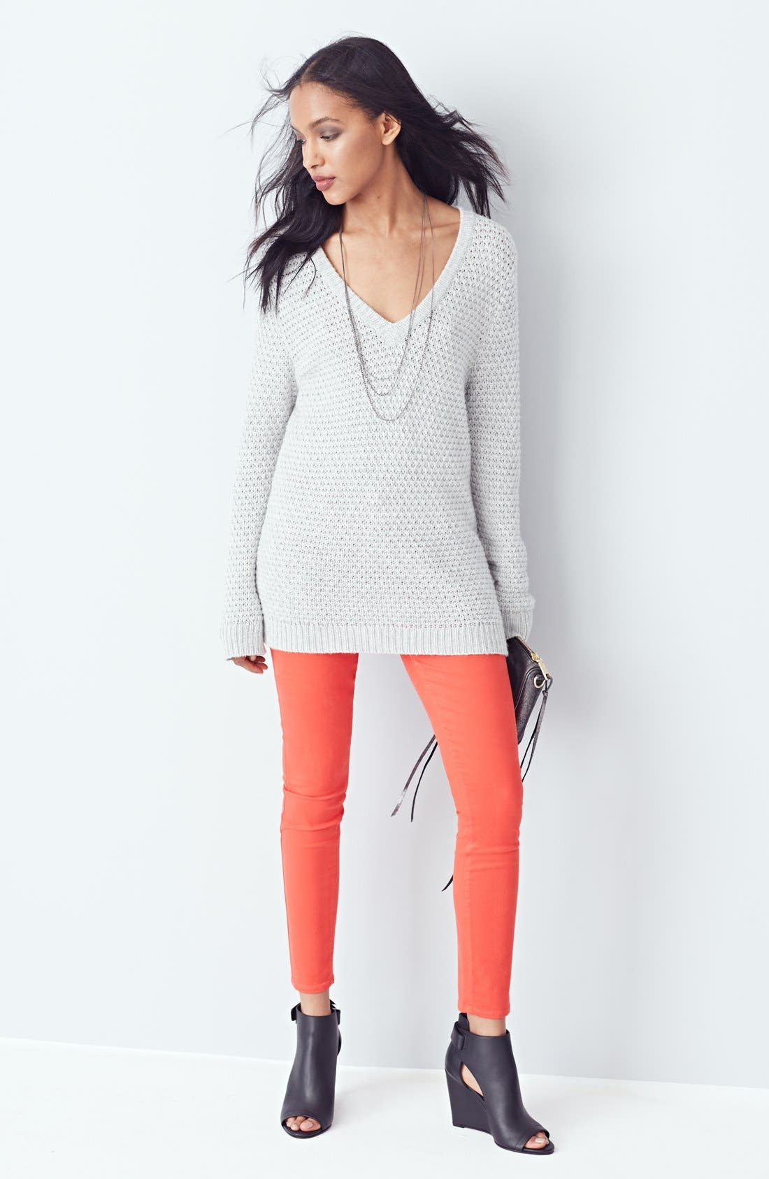 Denim 'Verdugo' Ultra Skinny Jeans,                             Alternate thumbnail 4, color,                             600