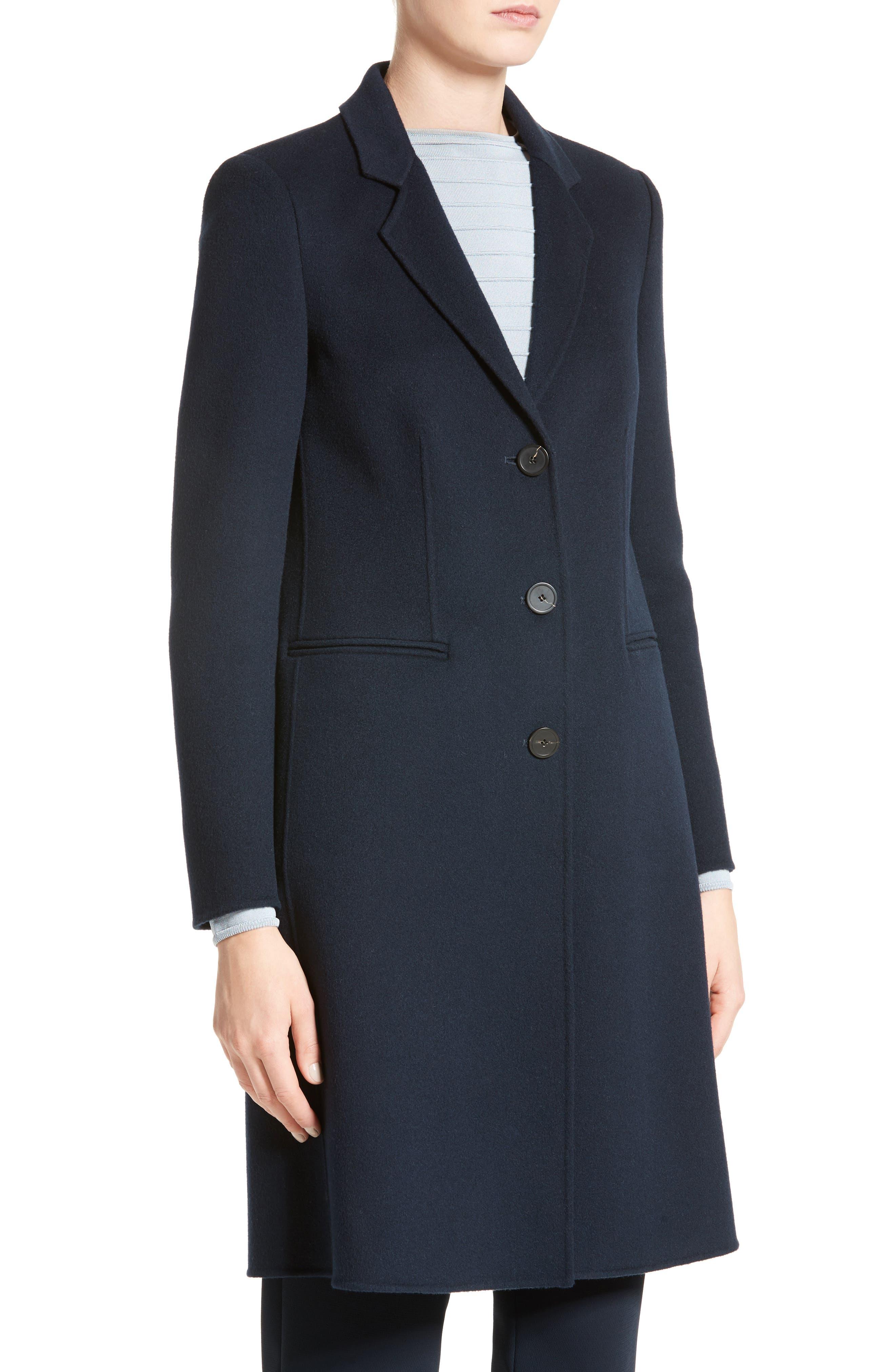 Double Face Cashmere Coat,                             Alternate thumbnail 3, color,                             457