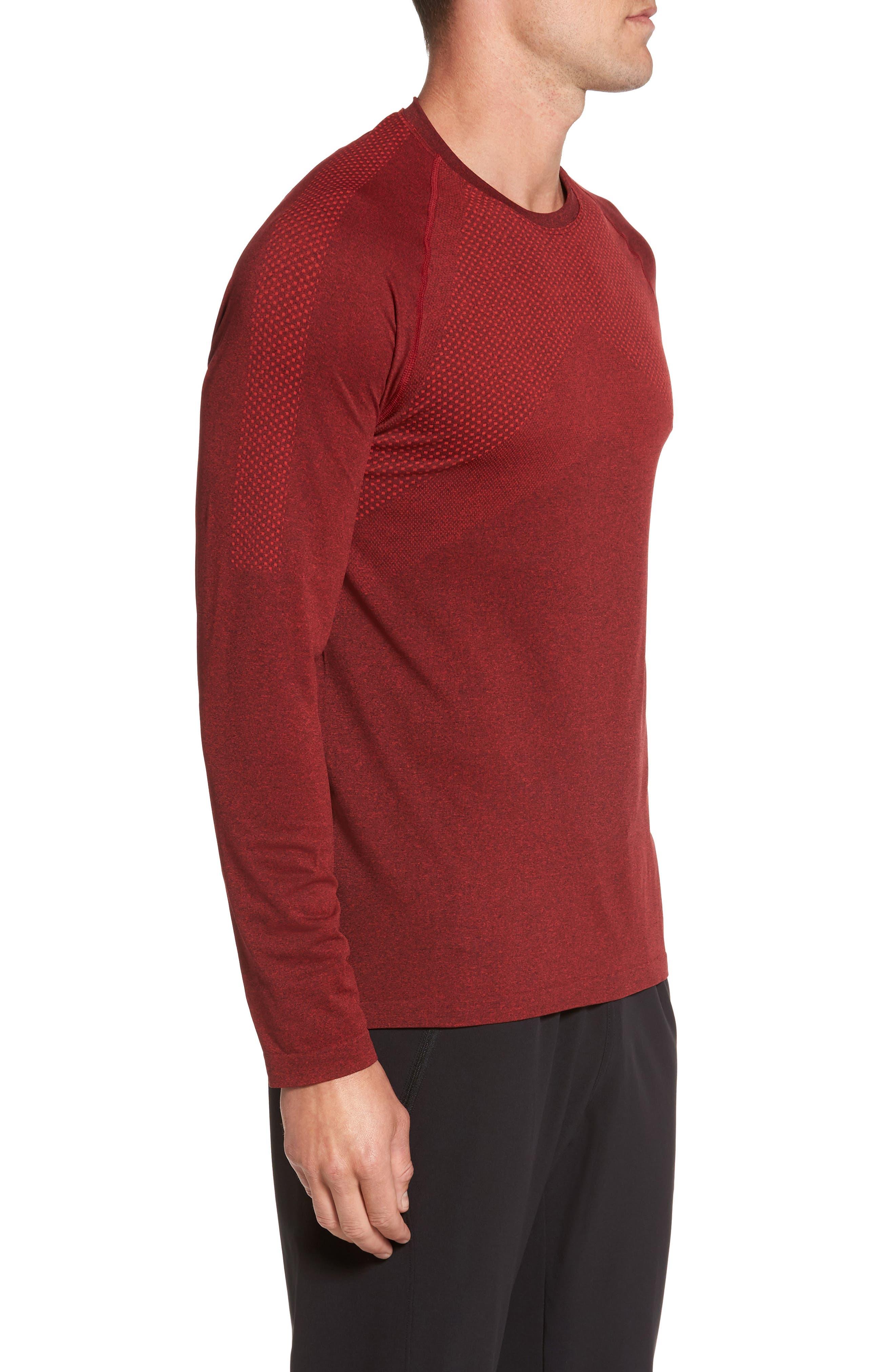 Zeolite Long Sleeve Performance T-Shirt,                             Alternate thumbnail 9, color,