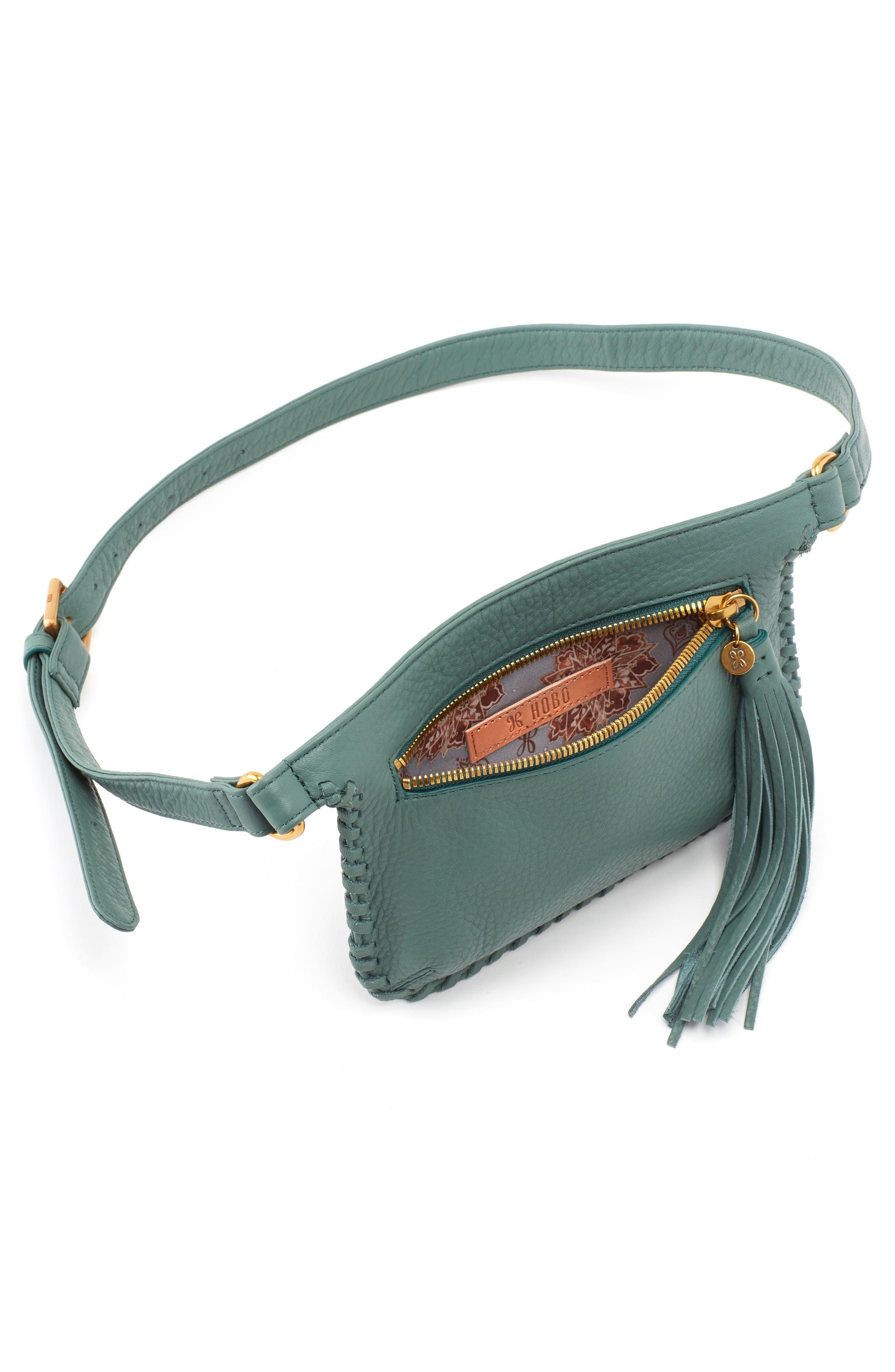 HOBO,                             Twig Belt Bag,                             Alternate thumbnail 3, color,                             MEADOW
