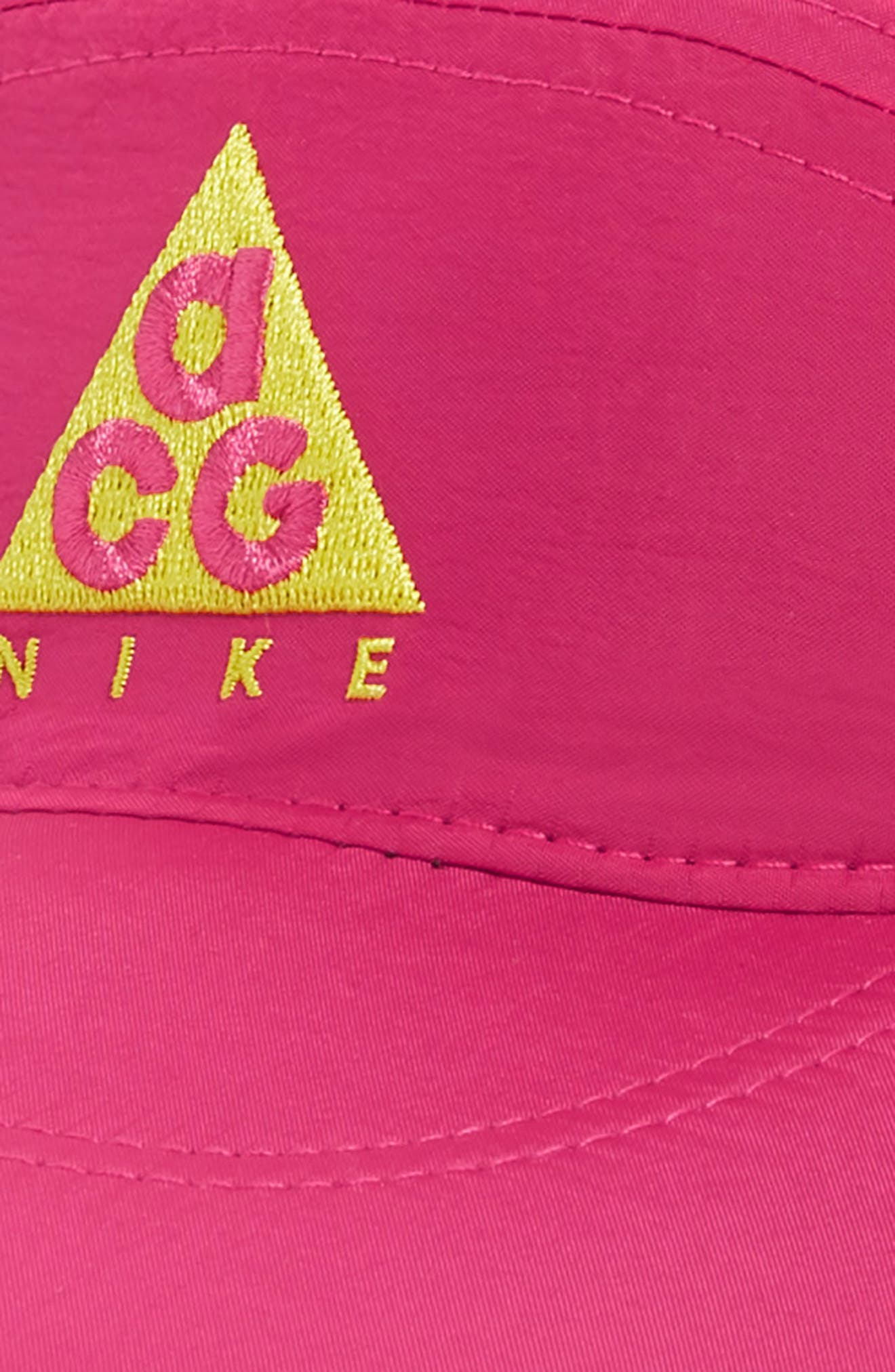 Sportswear ACG Tailwind Cap,                             Alternate thumbnail 3, color,                             RUSH PINK/OPTI YELLOW
