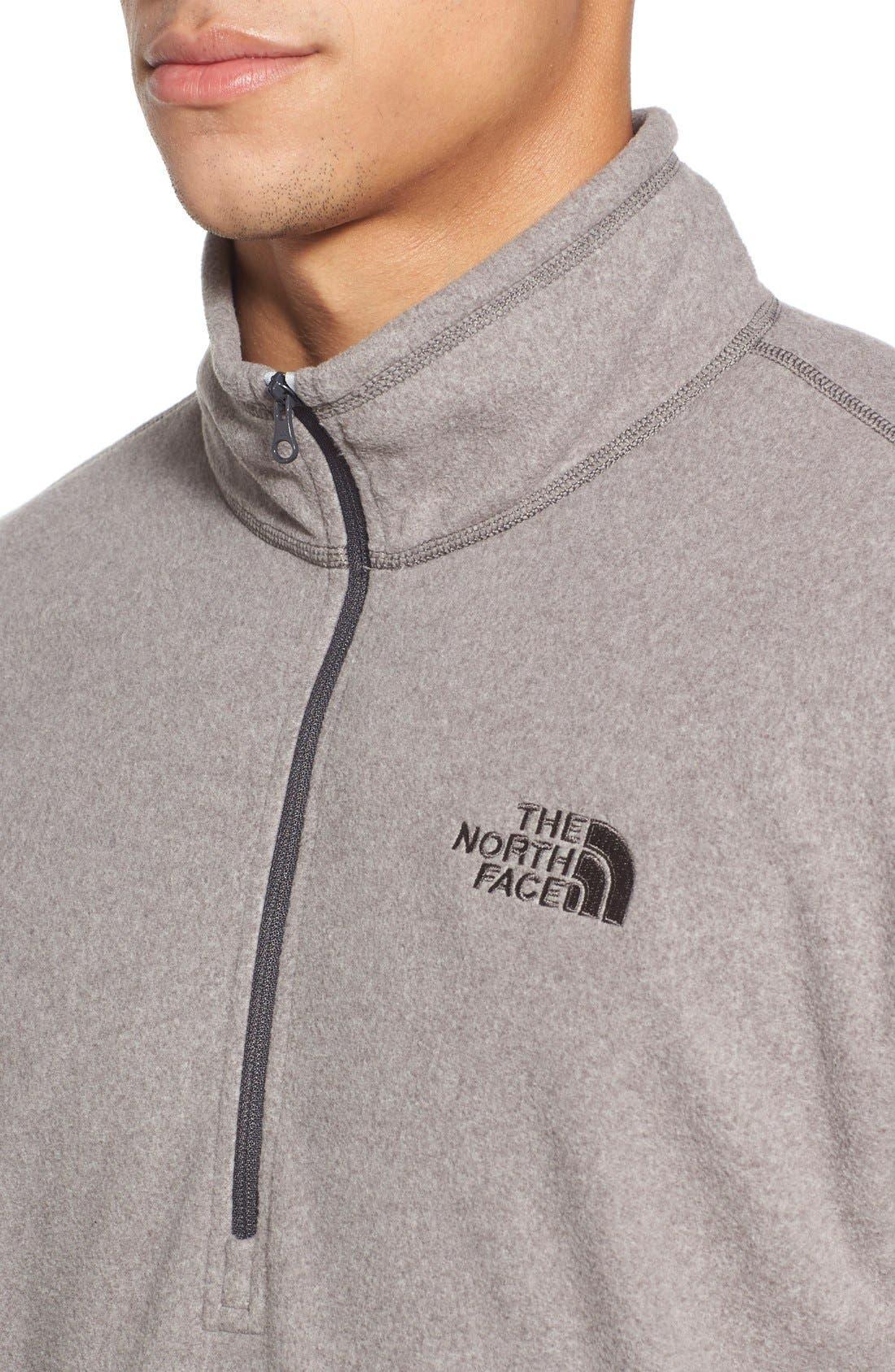 'TKA 100 Glacier' Quarter Zip Fleece Pullover,                             Alternate thumbnail 148, color,