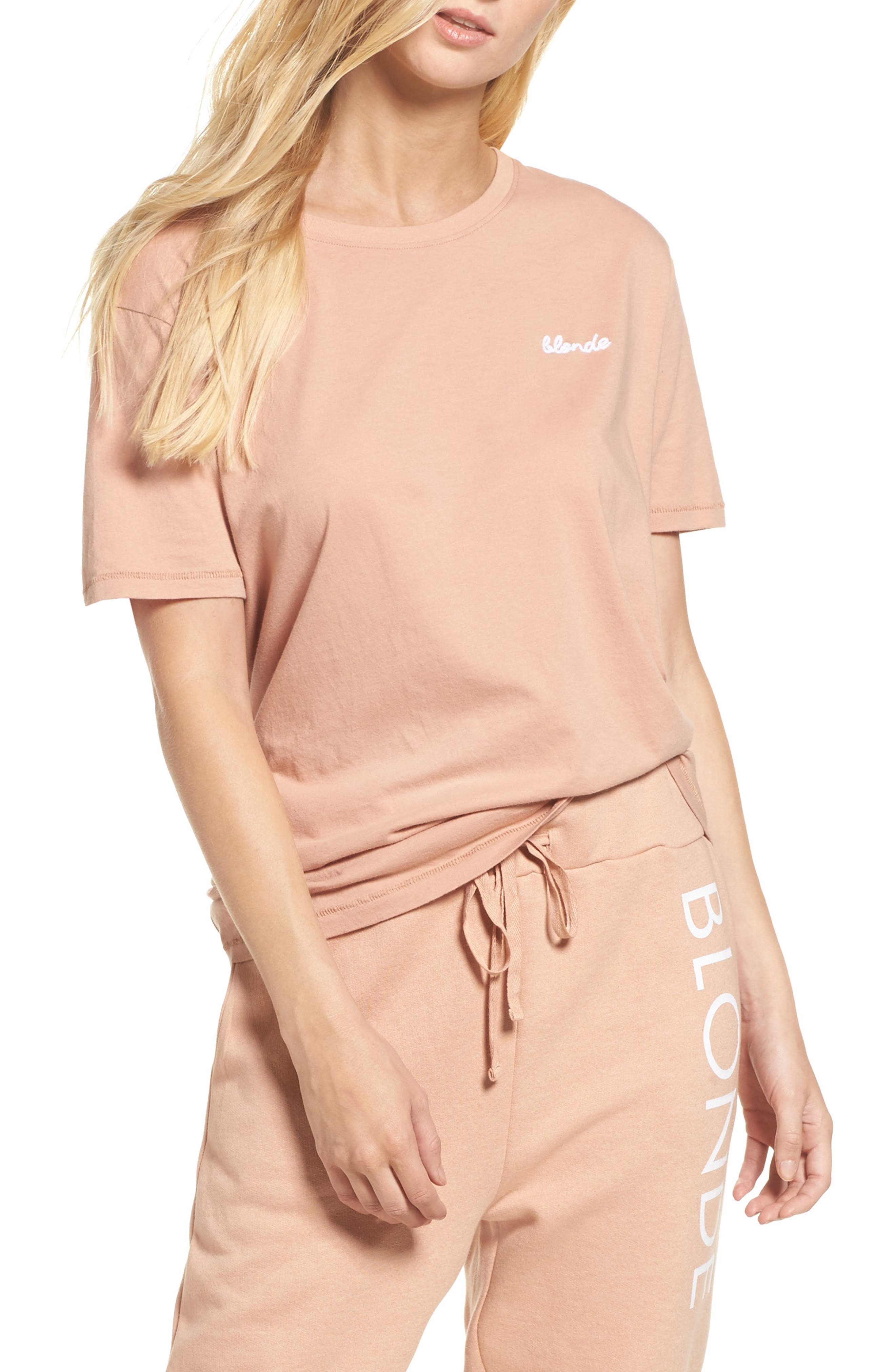 Blonde Tee,                         Main,                         color, 250