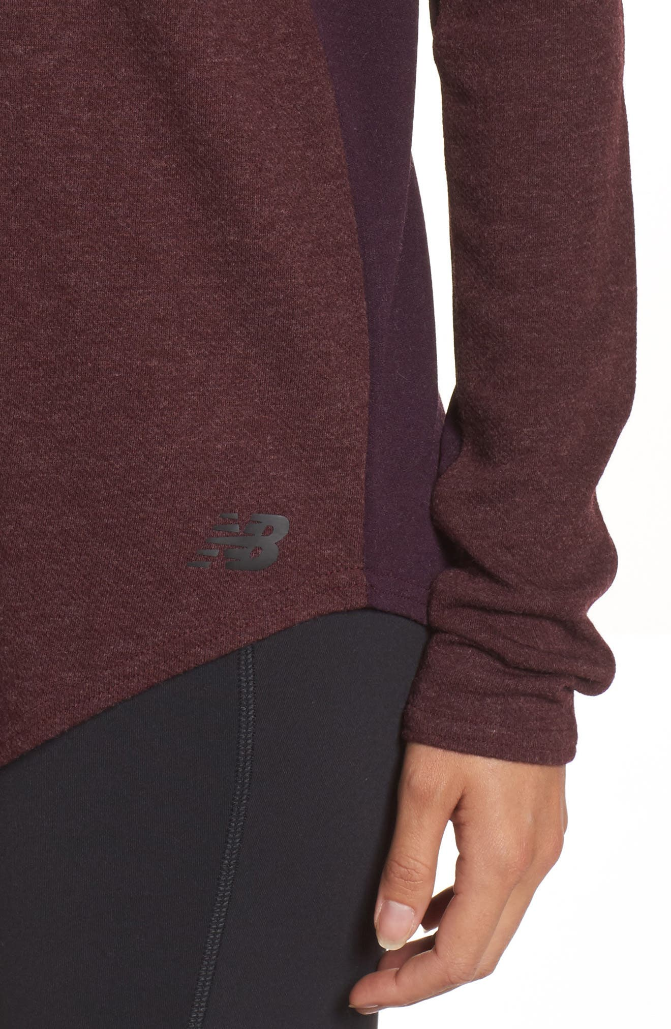 247 Luxe Long Sleeve Tee,                             Alternate thumbnail 4, color,                             930