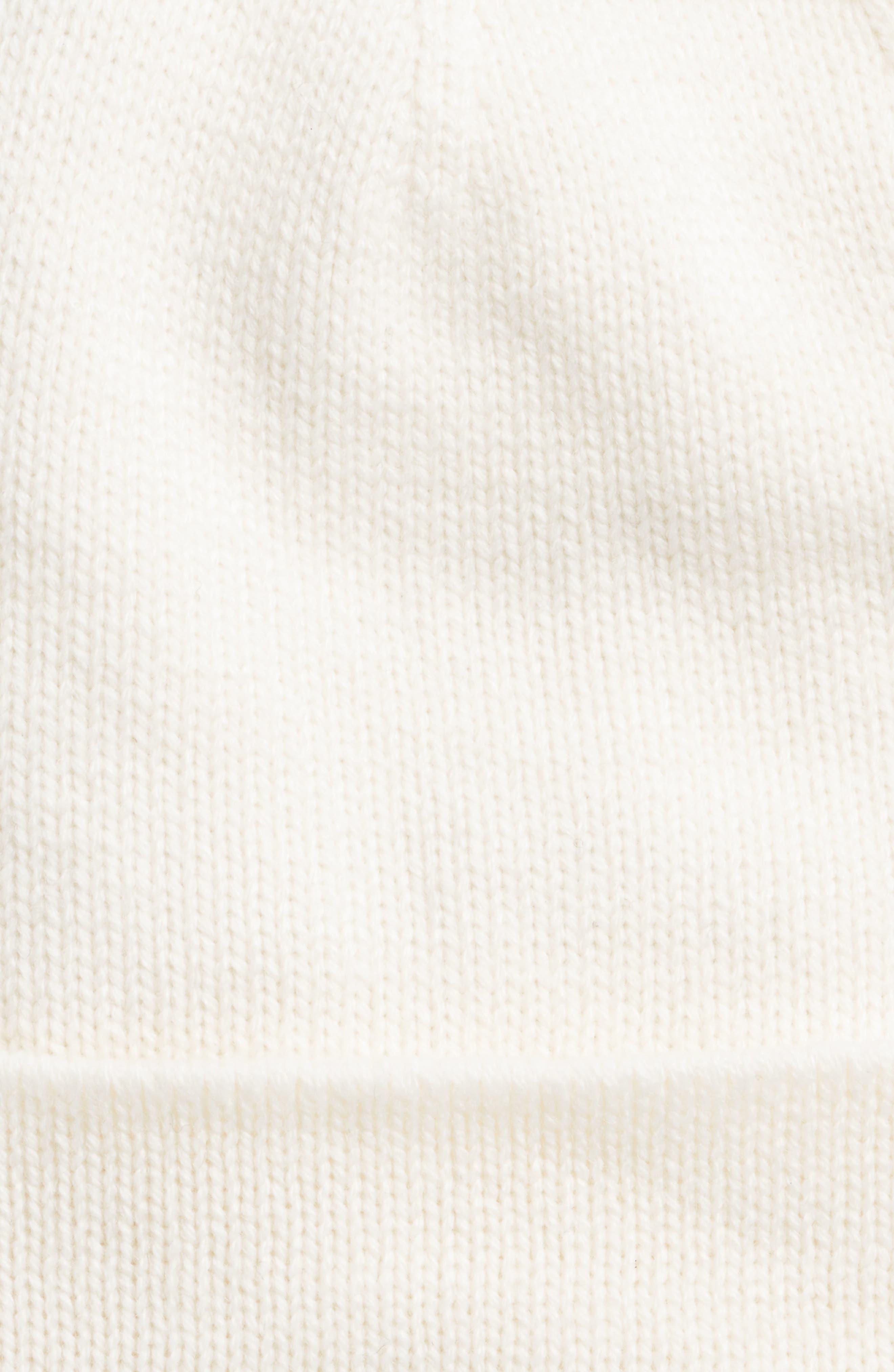 half bow beanie,                             Alternate thumbnail 9, color,
